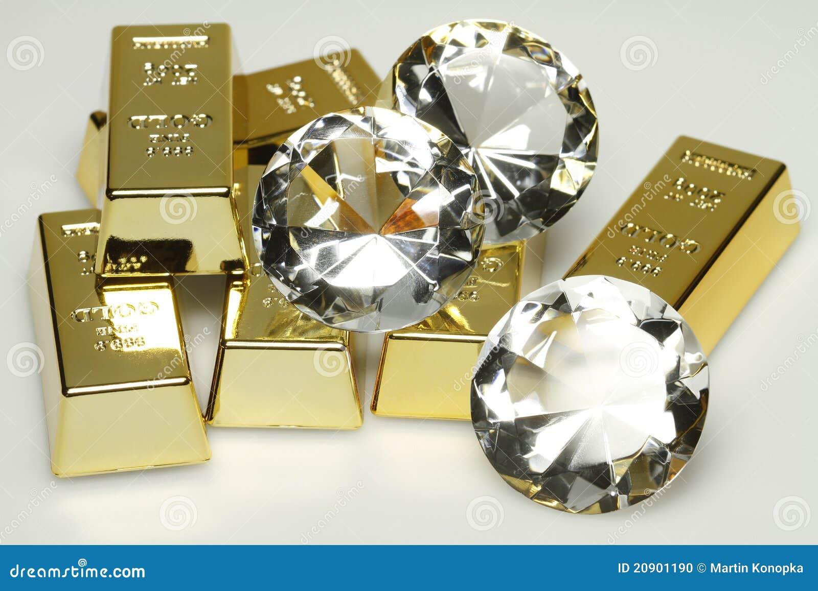 Bars diamantguld