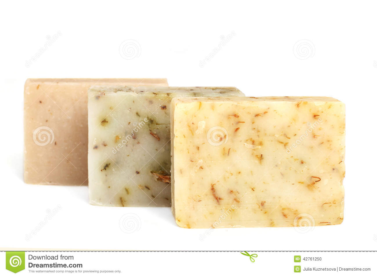 Natural Lavender Soap Color