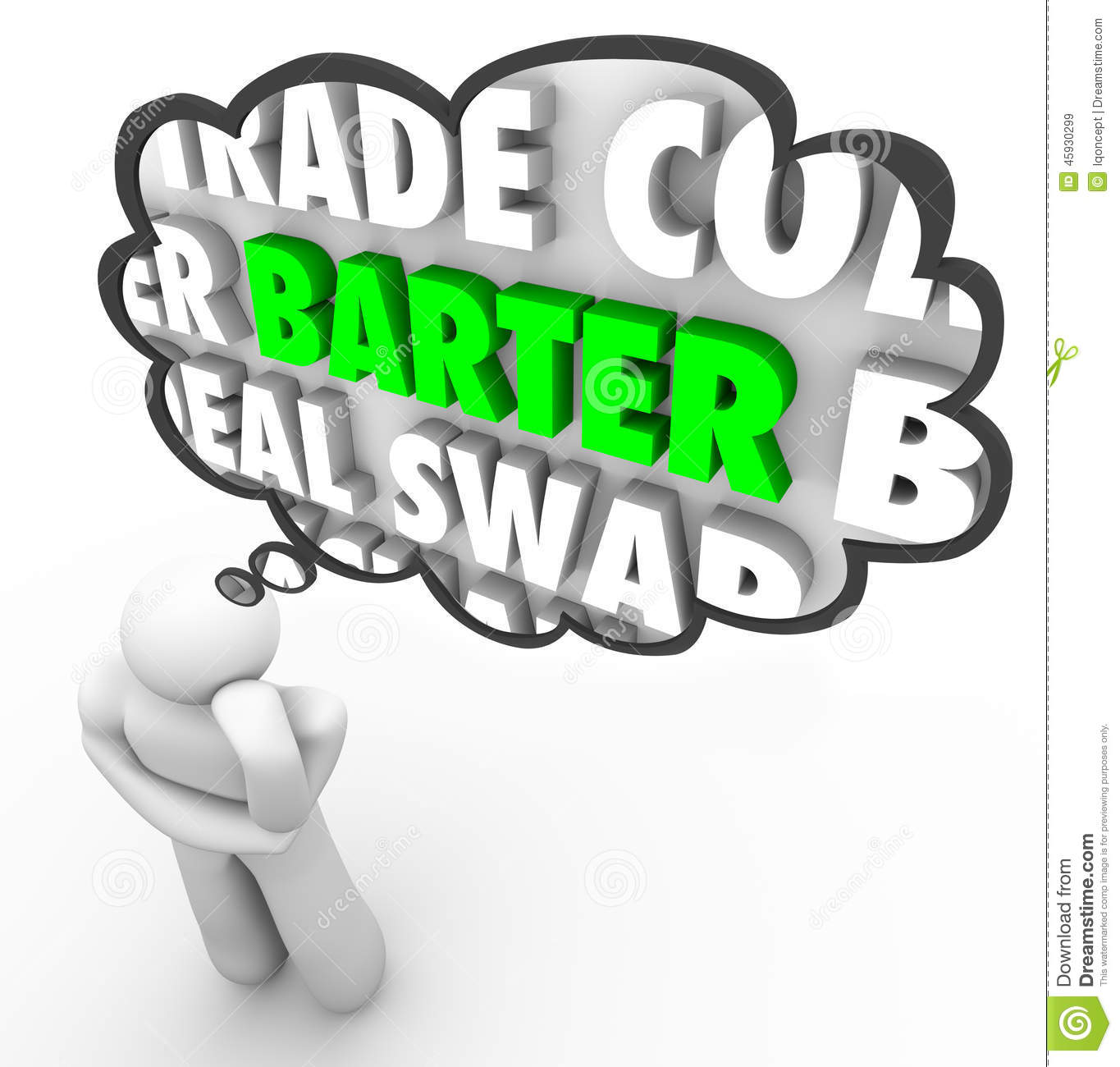 Barter - this is what barter deals. Barter Relations 6