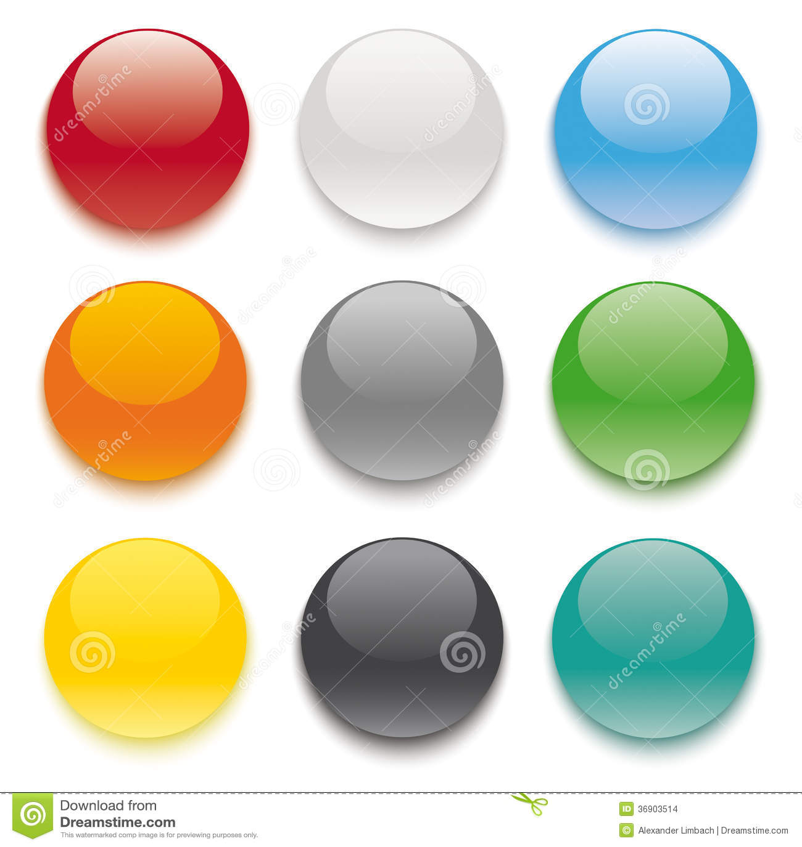 9 Barwiących guzików