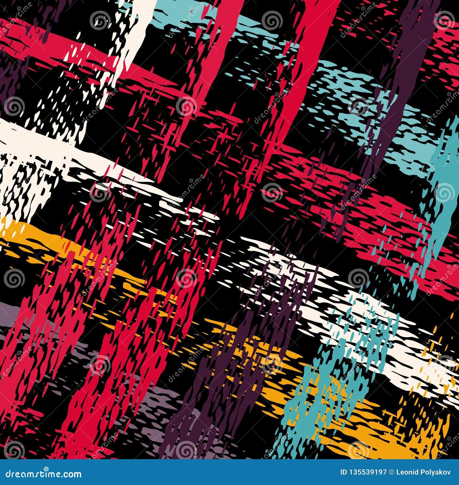 Barwione graffiti plamy na czarnej t?a grunge teksturze