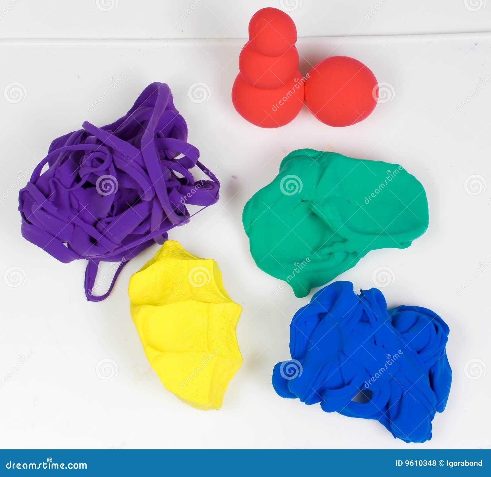 Barwioni glina kształty