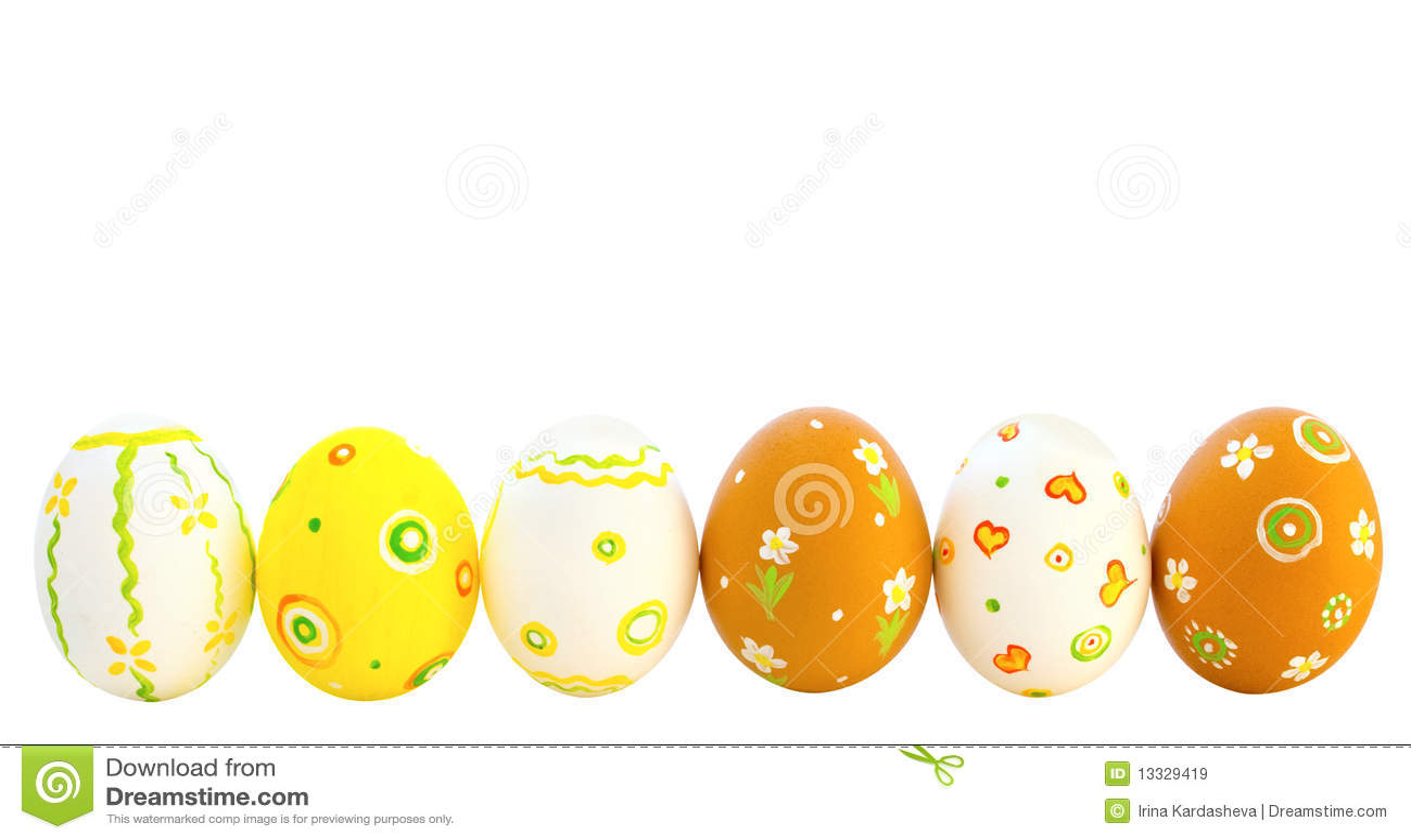 Barwioni jajka