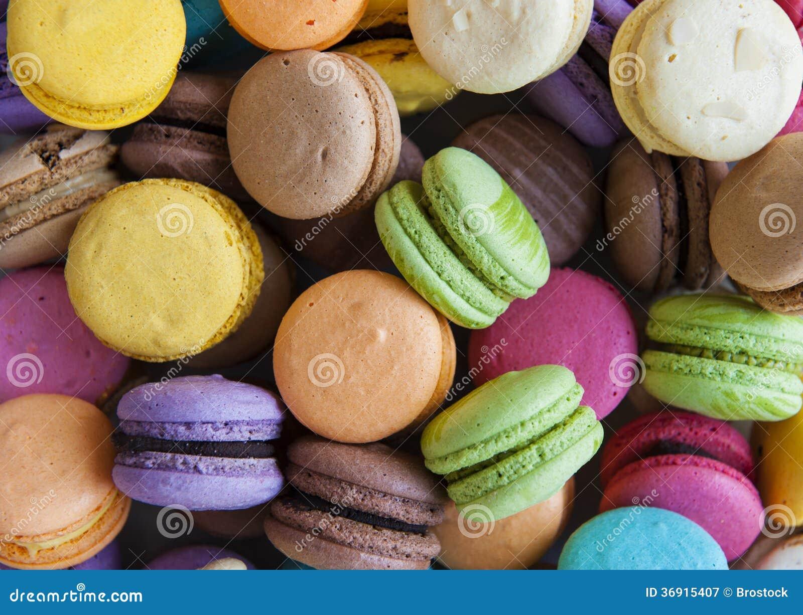 Barwiony Macarons