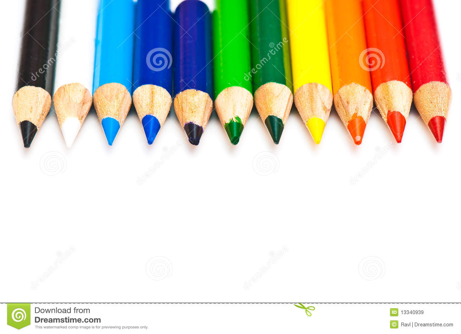 Barwiony ołówek