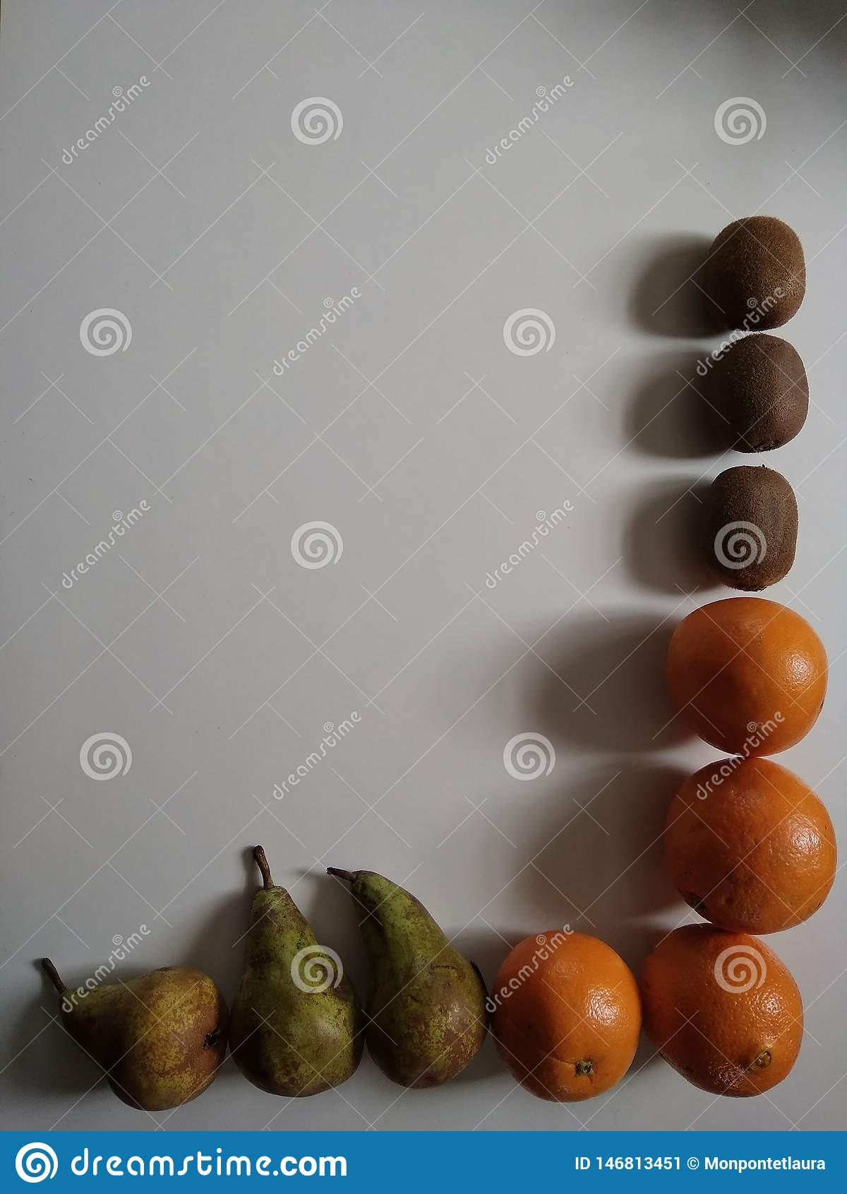 Barwiony tło z owoc