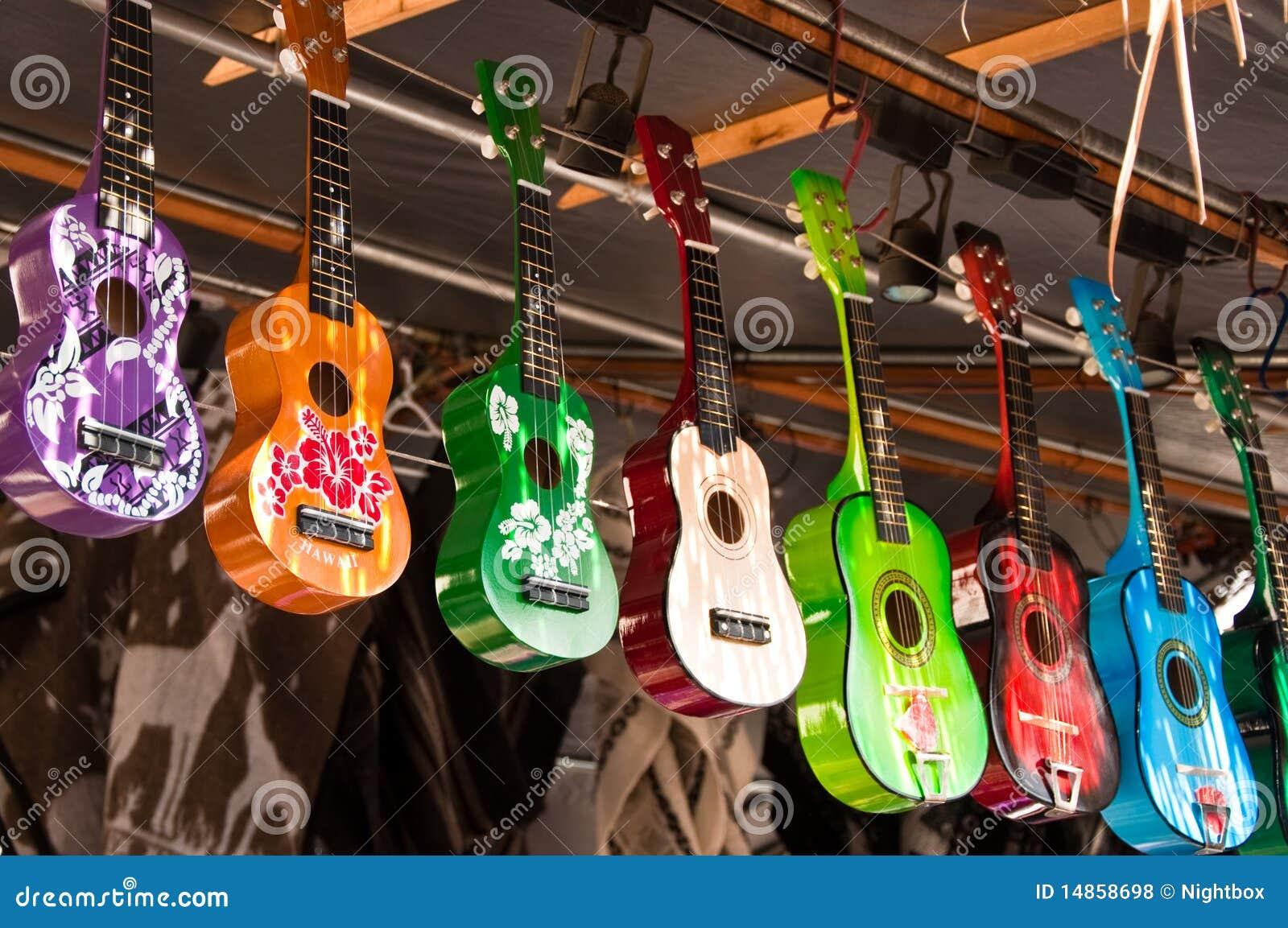 Barwiony ukulele