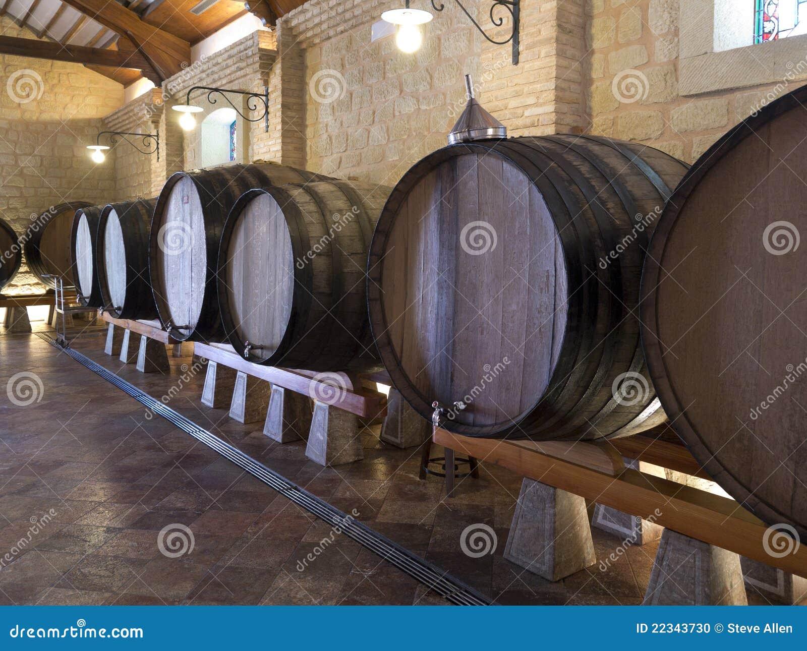 Baryłki bodega Spain spanish wina