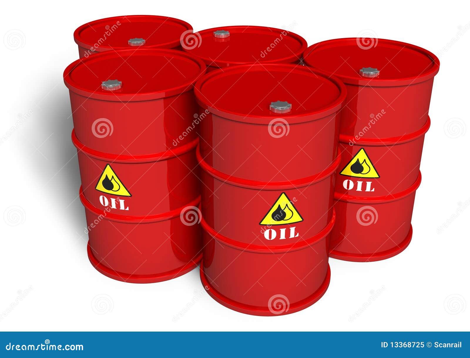 Baryłki olej