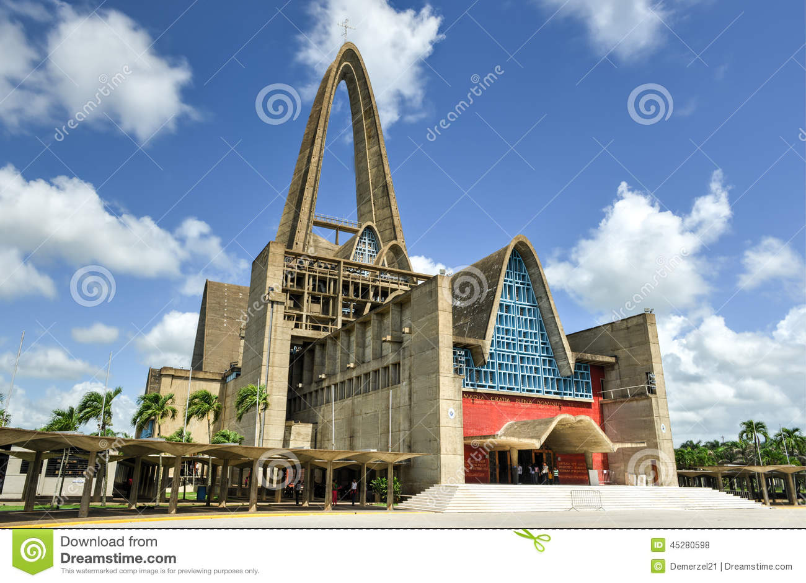 BasÃlica Catedral Nuestra señora De Los angeles Altagracia, Dominikański R