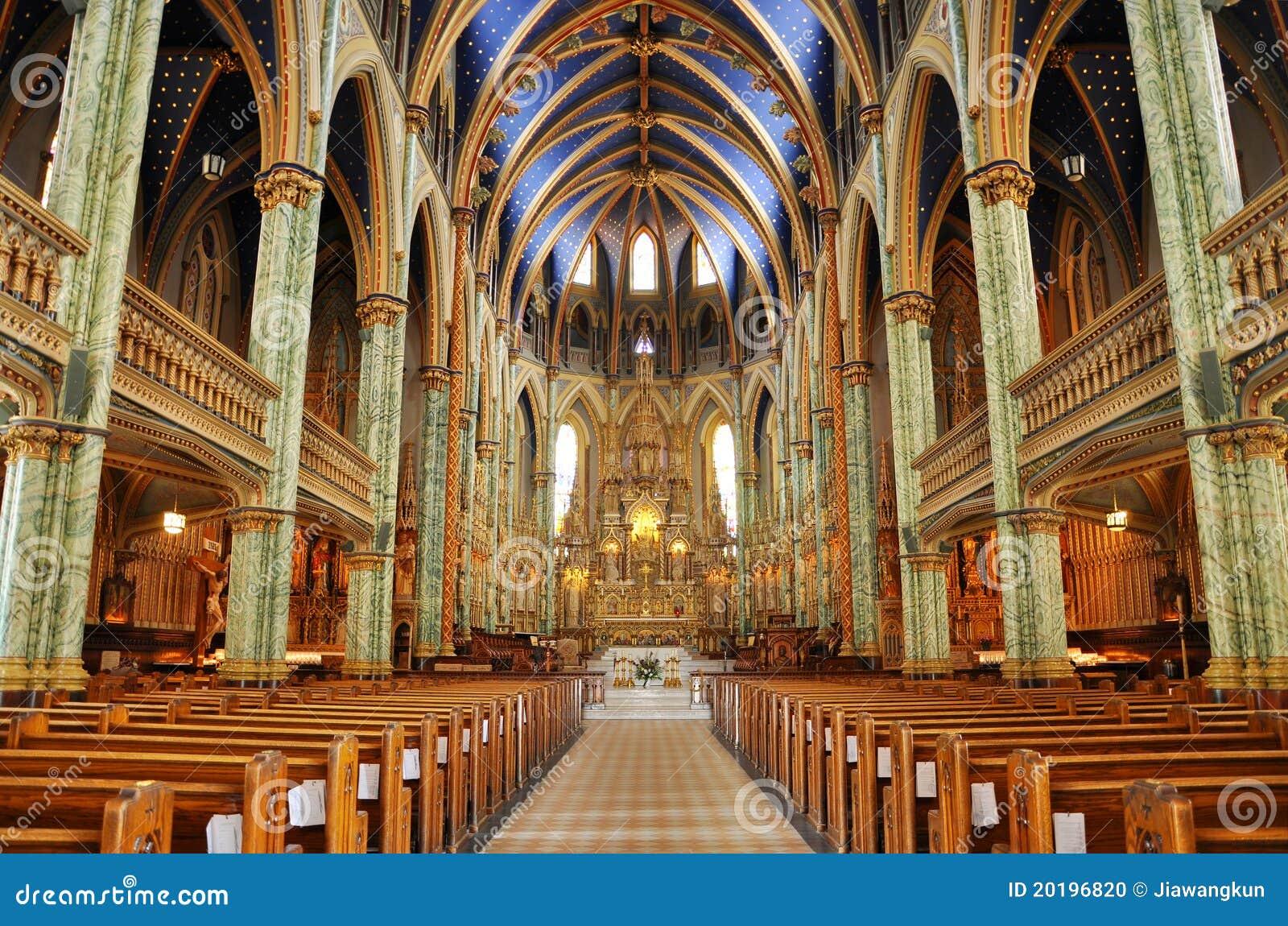 Basílica da catedral de Notre Dame, Ottawa