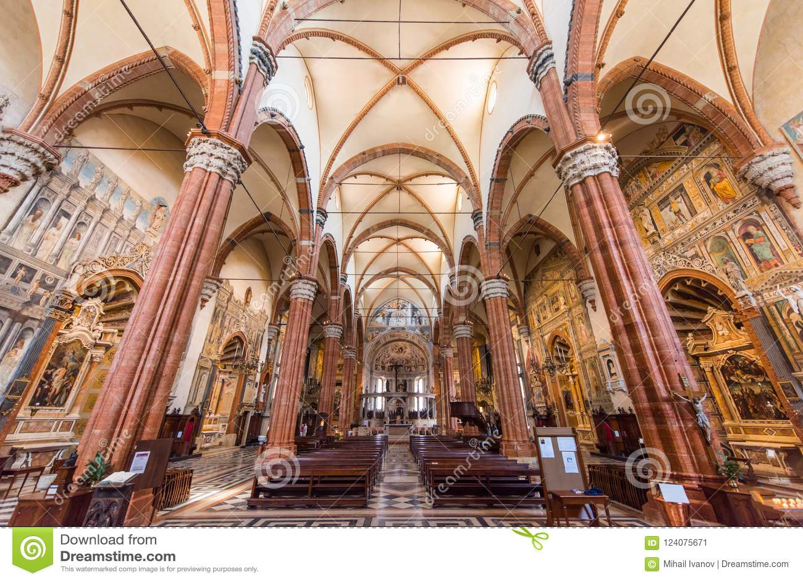 Basílica de San Zeno, Verona, Italia