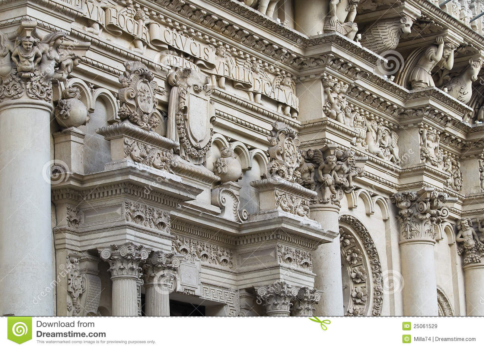 Basílica de Santa Croce. Lecce. Puglia. Italy.