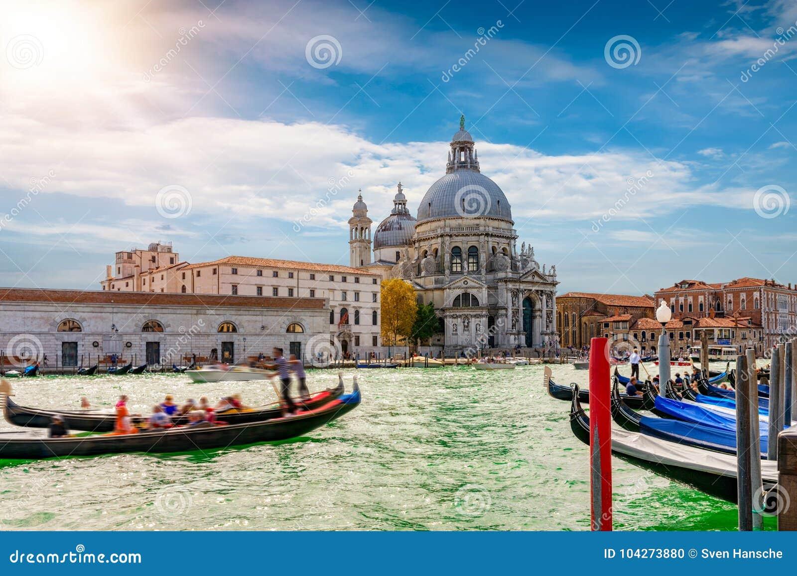 A basílica di Santa Maria della Salute em Veneza