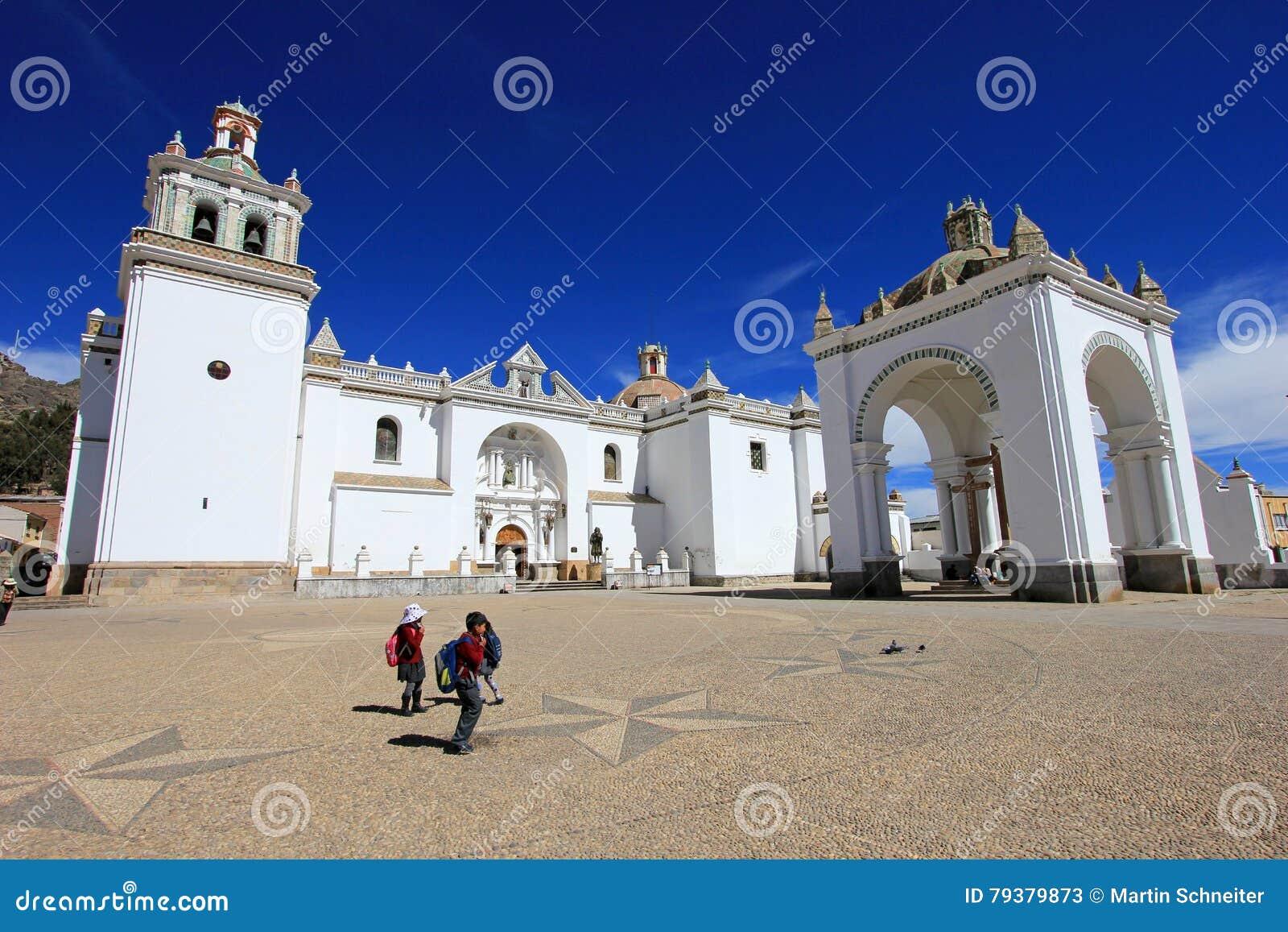 Basílica nuestra señora de Copacabana, Bolivia