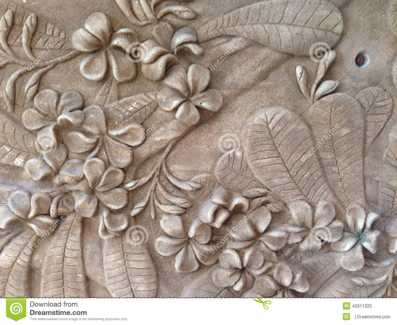 Bas relief stock photo image