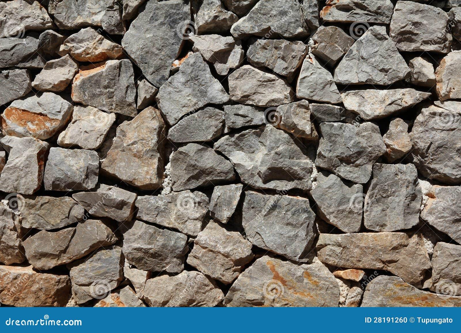 Basalt And Granite : Basalt rock wall stock photo image of pattern