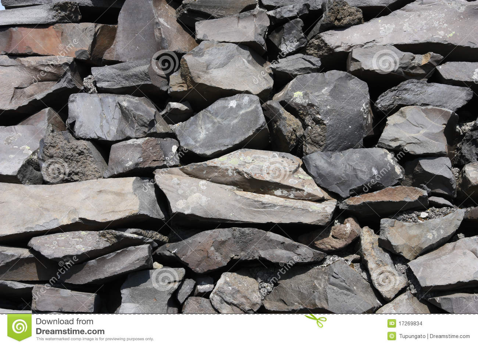What Are Basalt Stones : Basalt stone texture stock photo image of stones