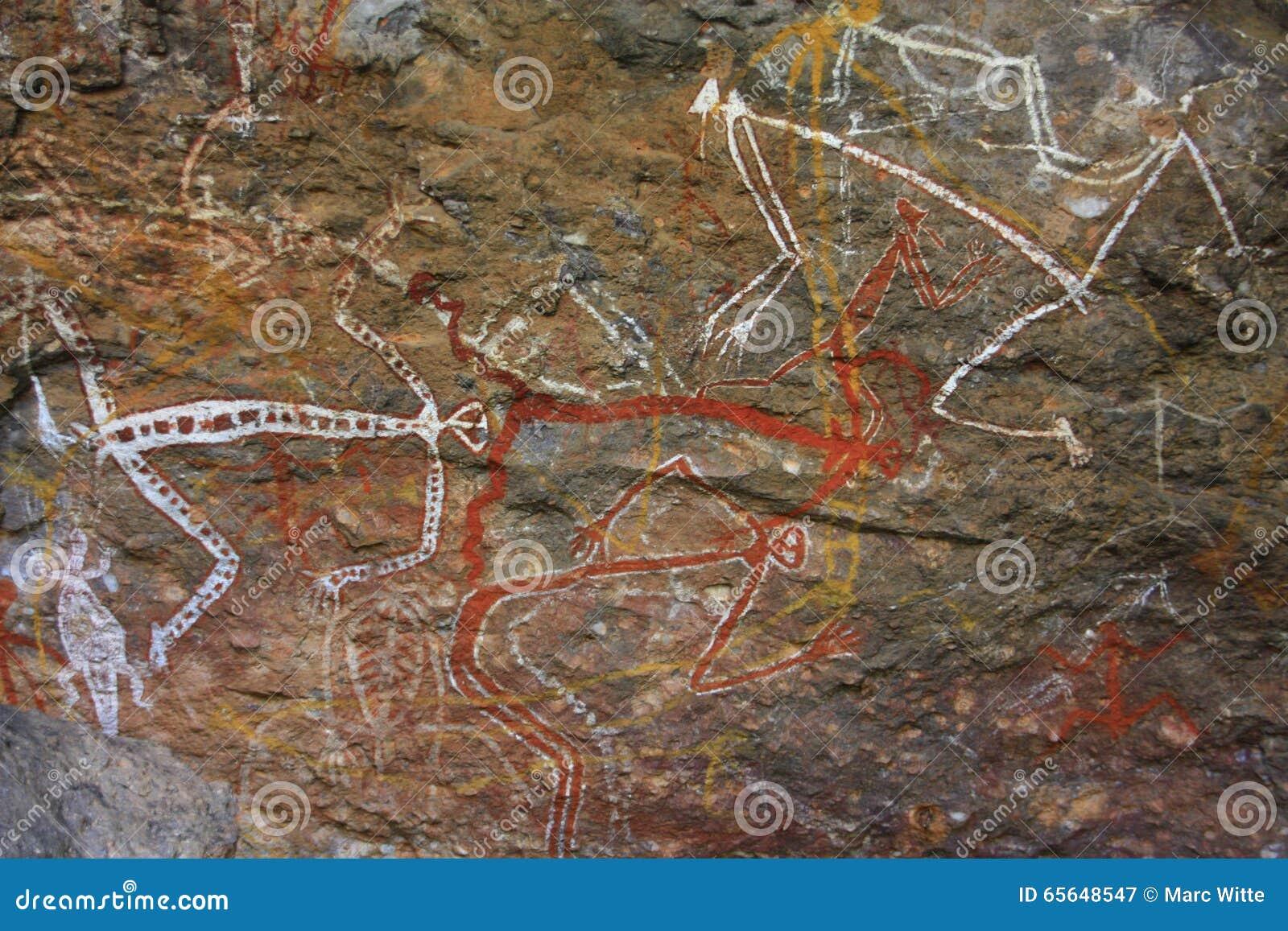 Basculez l art chez Ubirr, parc national de kakadu, Australie