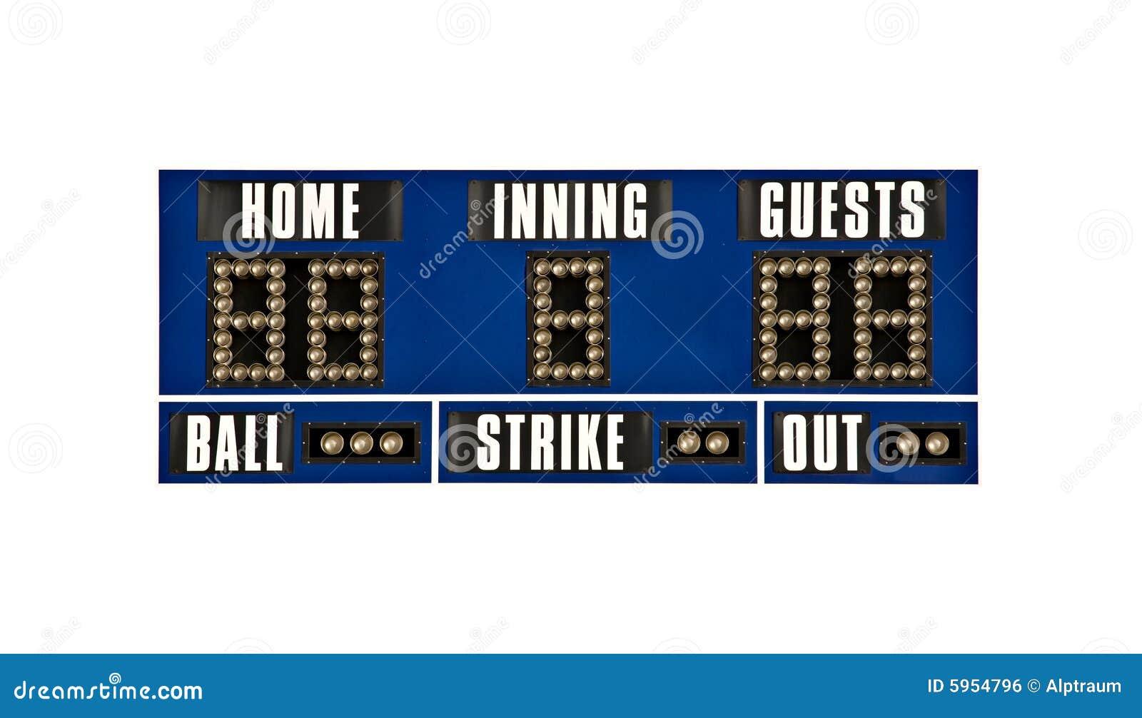 Base-ball de tableau indicateur d isolement