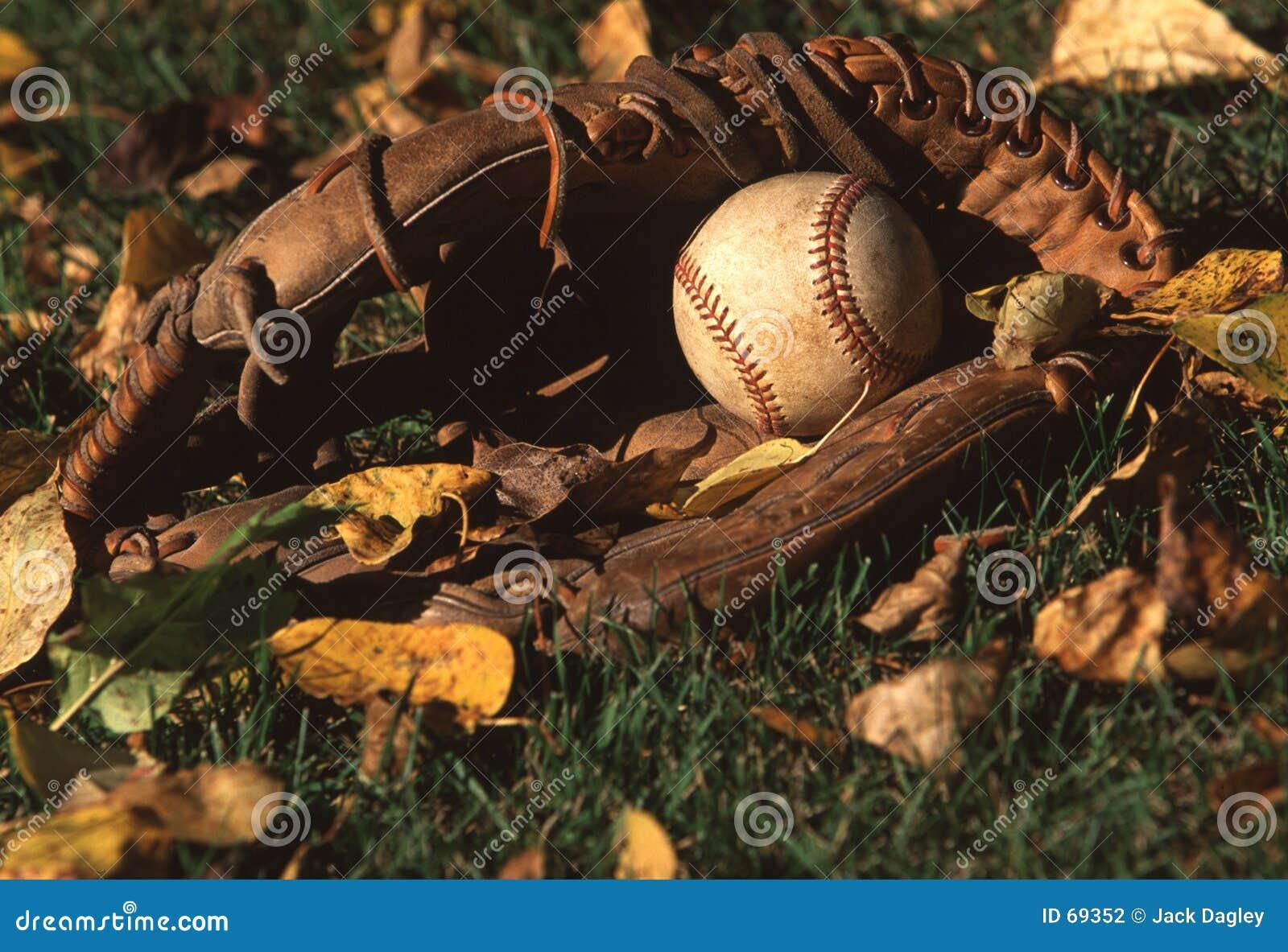Base-ball et gant de base-ball