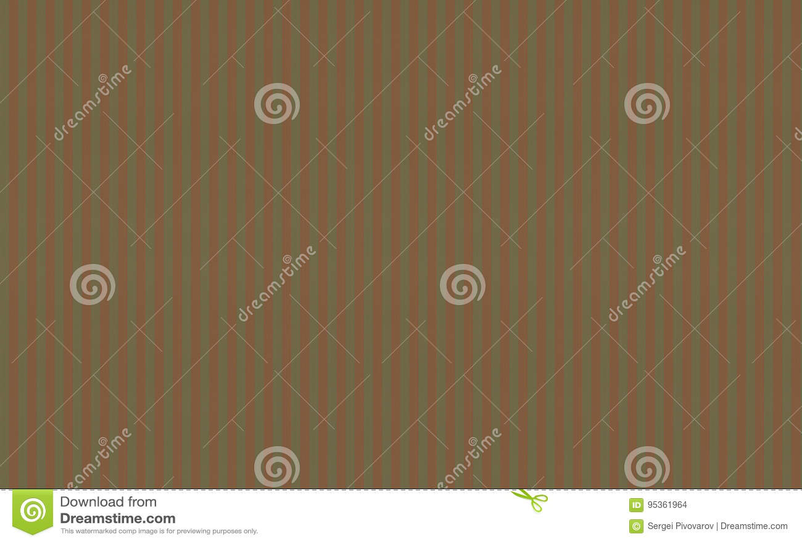 Base mediterrânea do estilo da textura do fundo da cor verde-oliva caqui da lona com vertical alaranjado vermelho