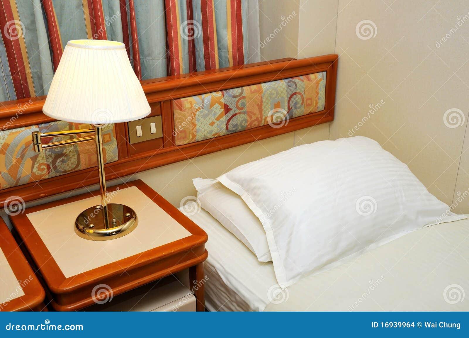 base nella cabina della nave da crociera immagini stock