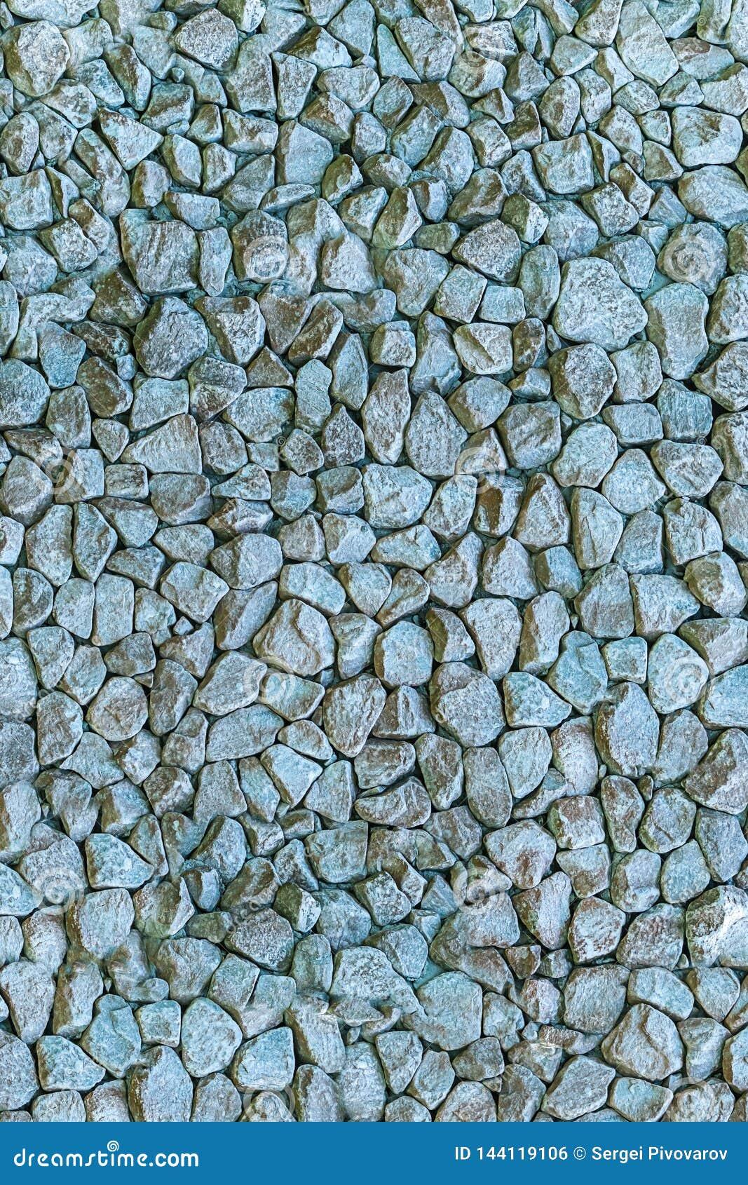 Base raide de texture de décoration de jardin de conception de sort de miette de granit de modèle de style grunge en pierre gris