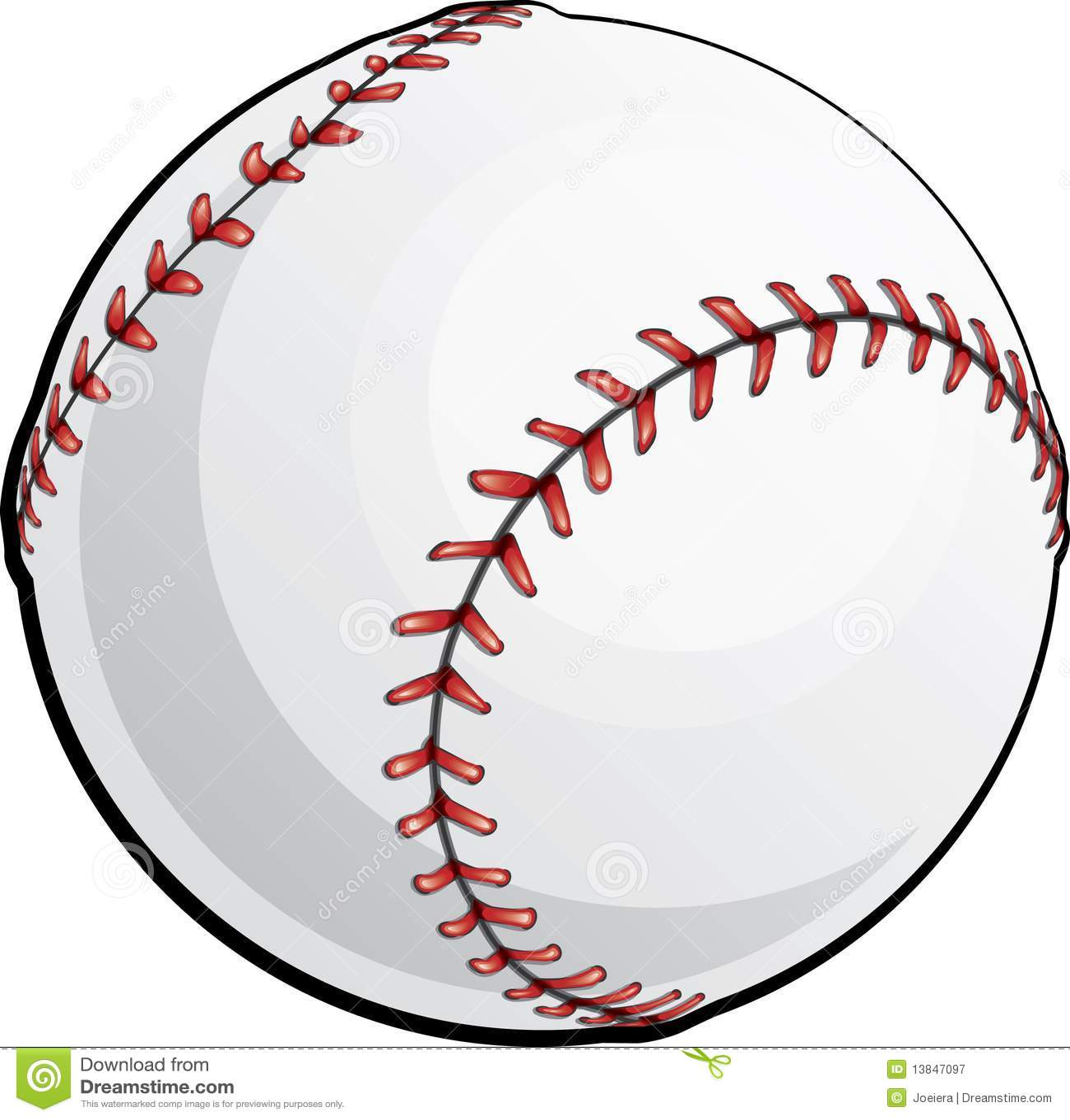 Baseball stock vector. Illustration of isolated, ball ...