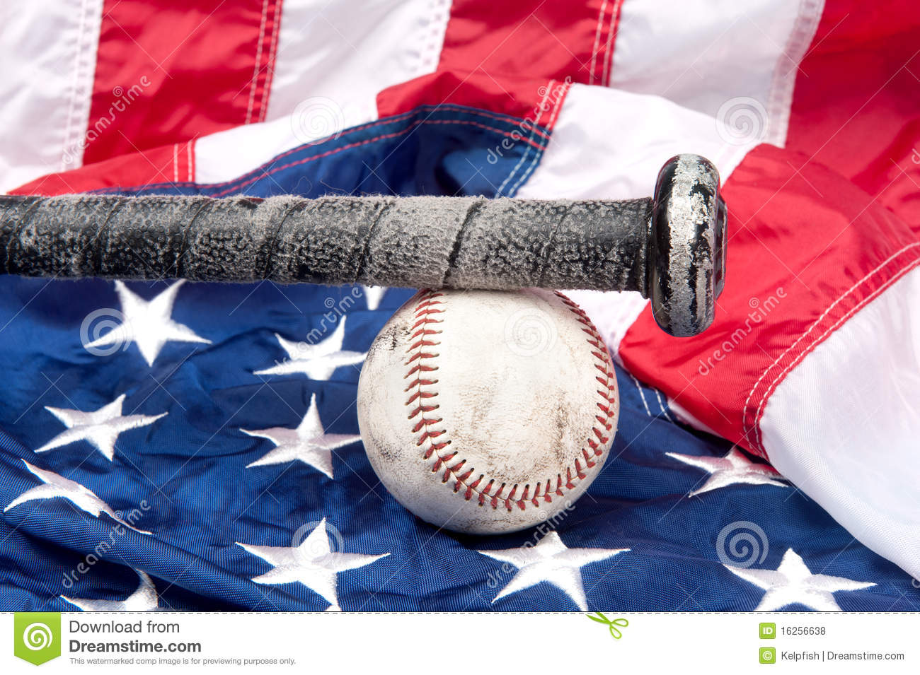 Baseball on American flag stock photo. Image of sports - 16256638 e2a2debb916