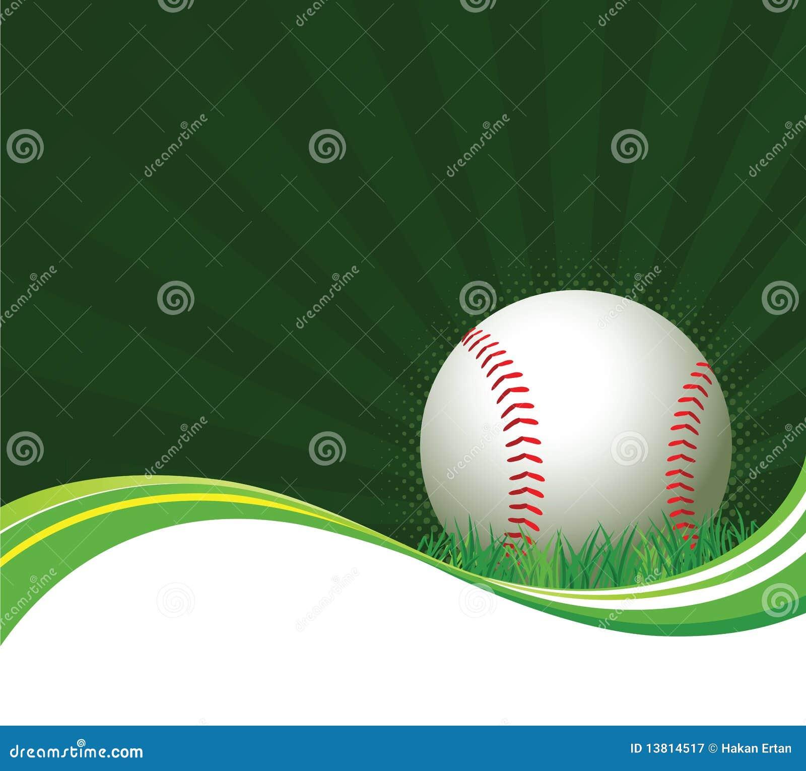 Baseball Background Royalty Free Stock Photography Image