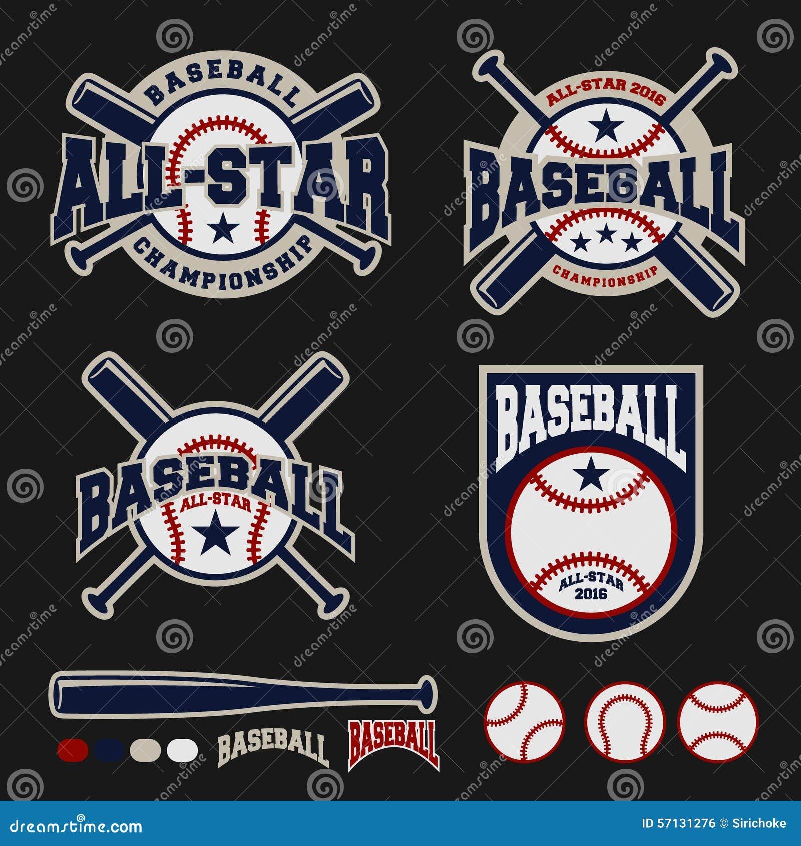 Baseball badge logo design for logos stock vector image for Logos for t shirts printing