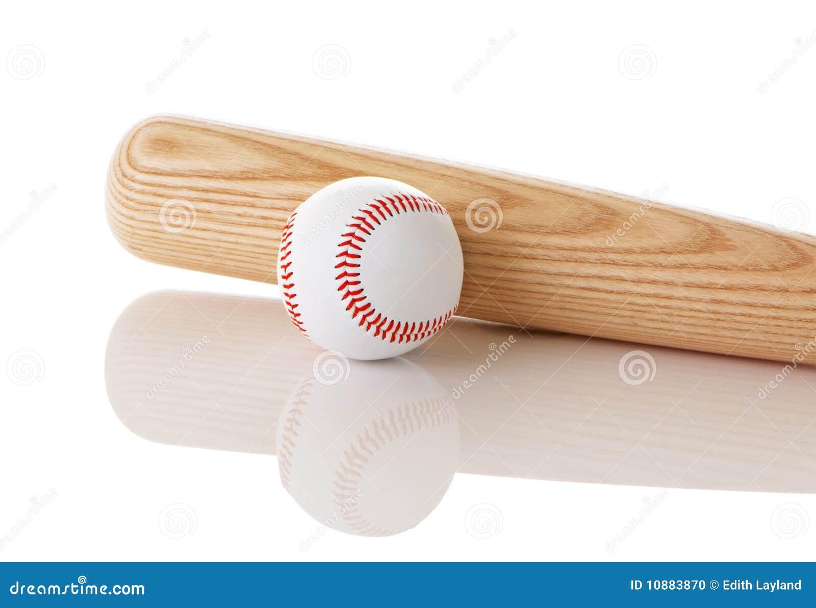 baseball and bat stock photo image 10883870