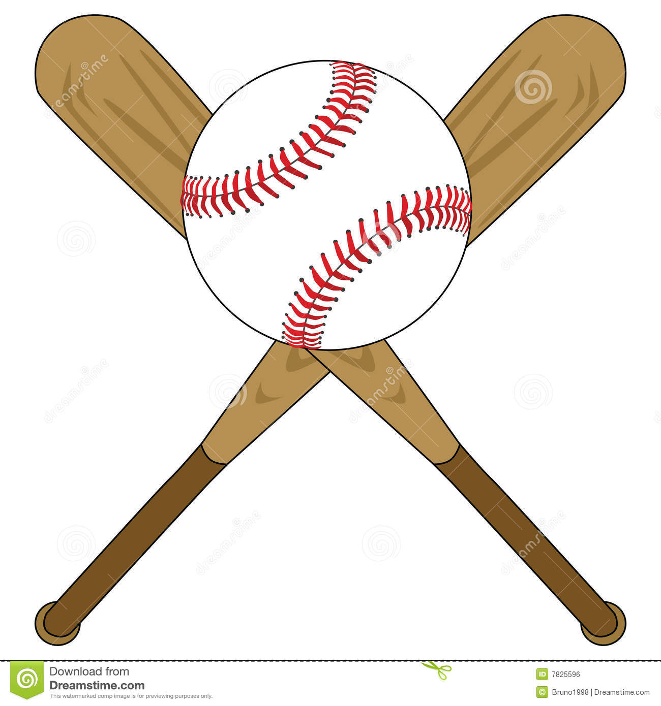 baseball bats and ball royalty free stock image image 7825596