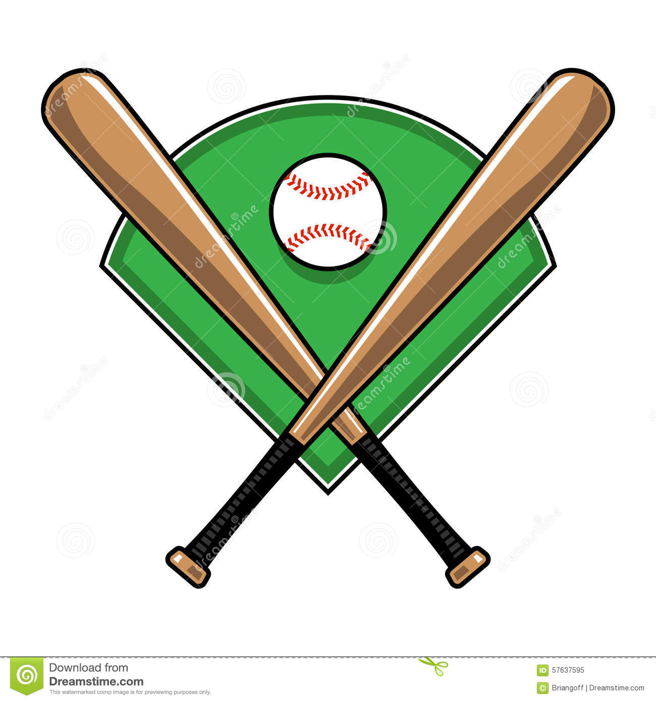 Baseball Bats Stock Illustrations – 760 Baseball Bats Stock ...