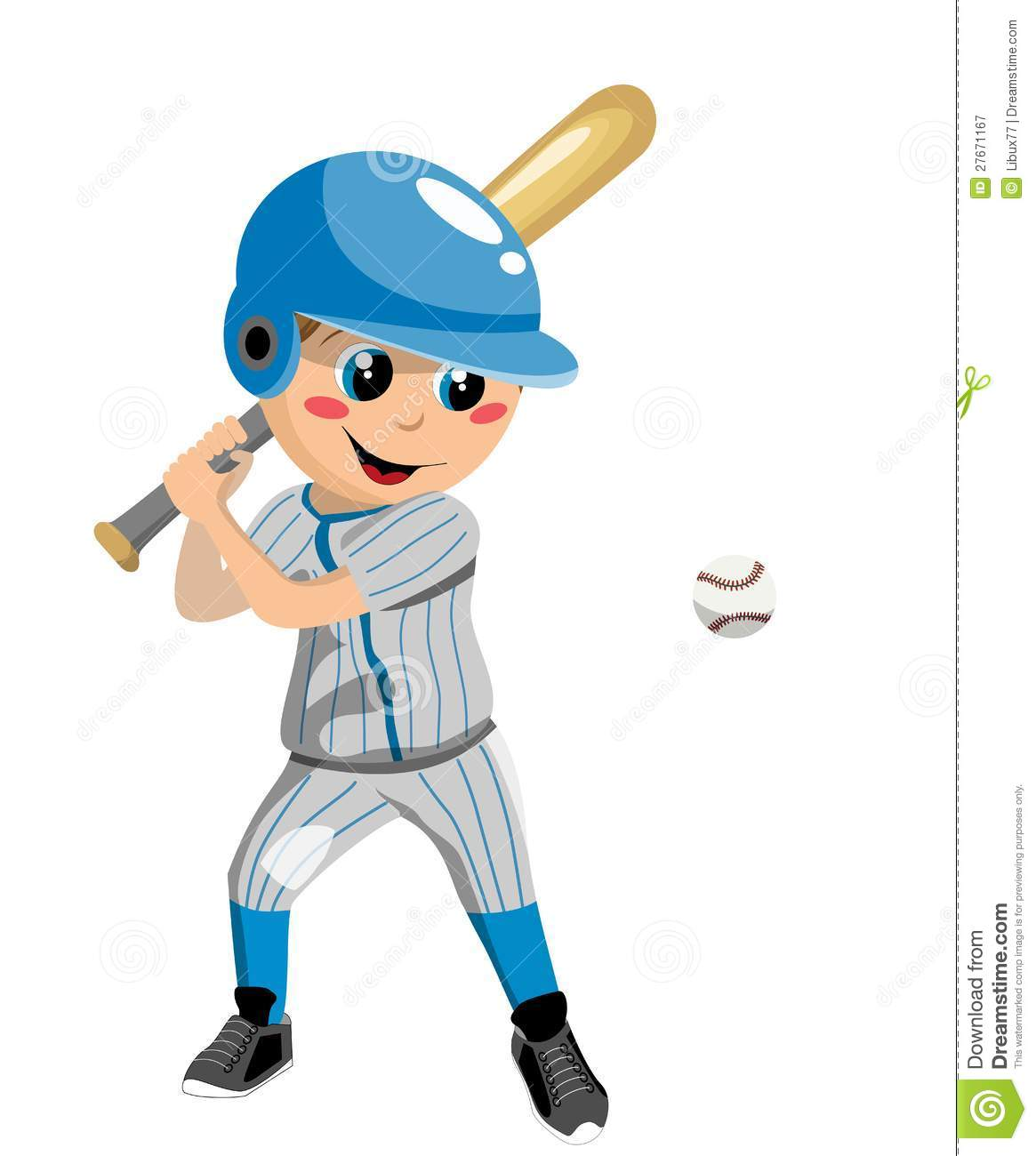 Boy playing baseball isolated on white background. You can find ...