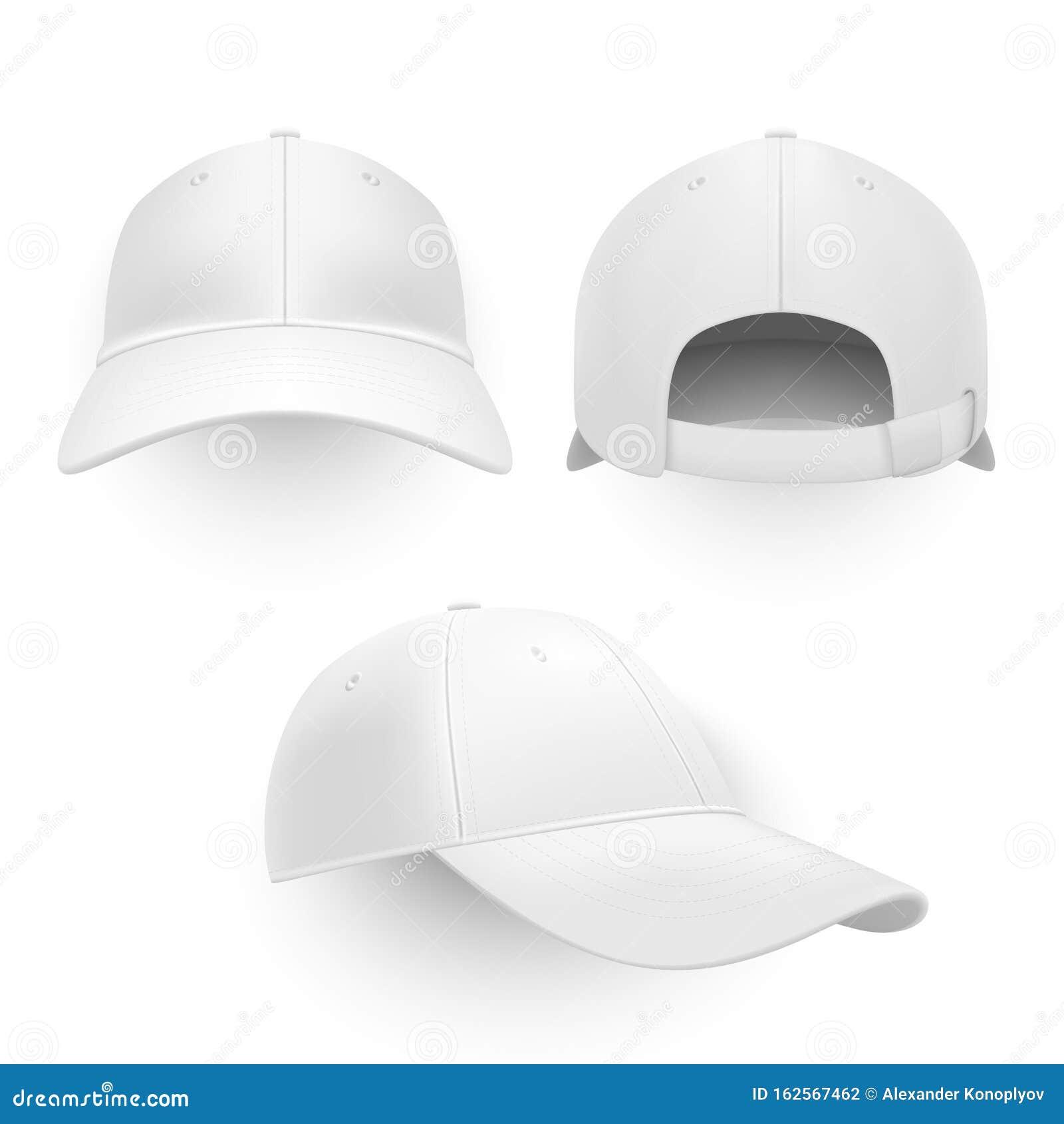 Baseball Cap Mockups Set Cap Mock-up, Fashion, Clothing, Apparel, Mockup Sport Snapback Template
