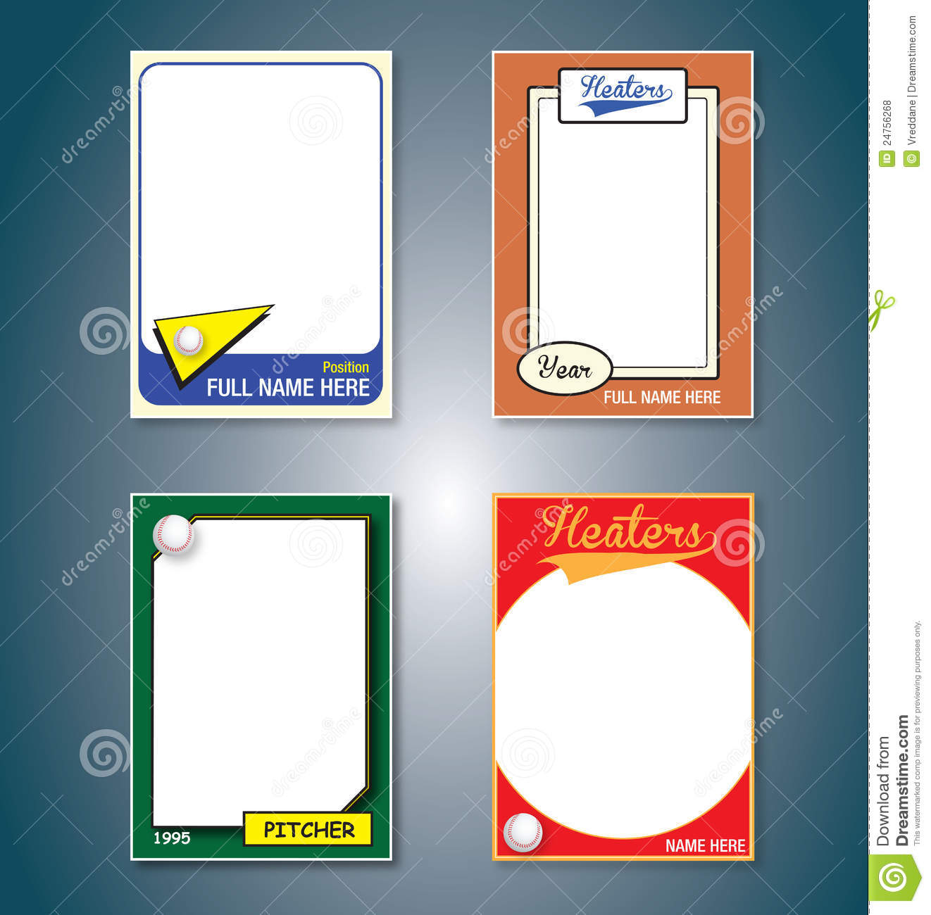 Custom Card Template » Free Trading Card Template Download - Free ...