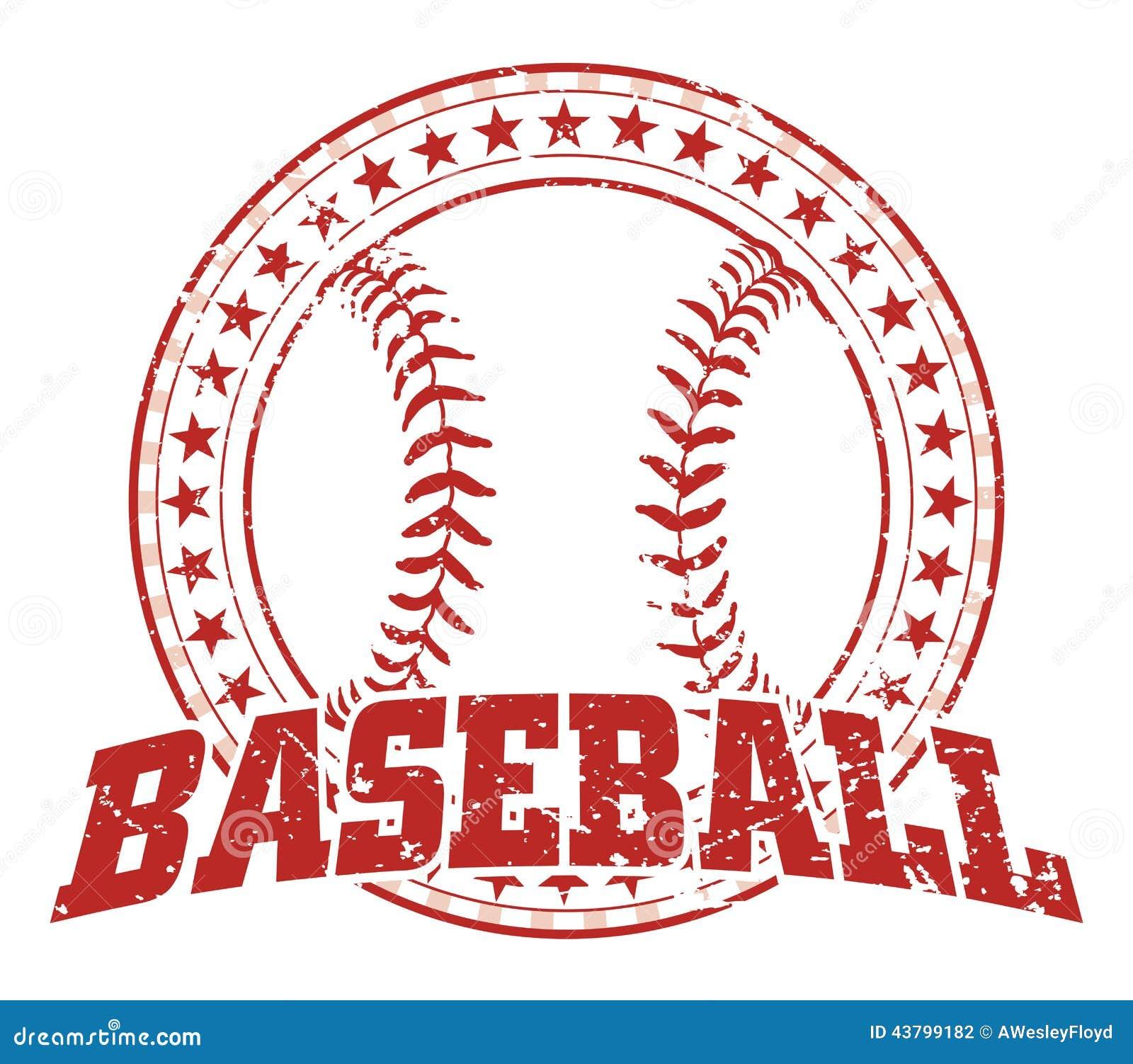 Image de baseball vintage