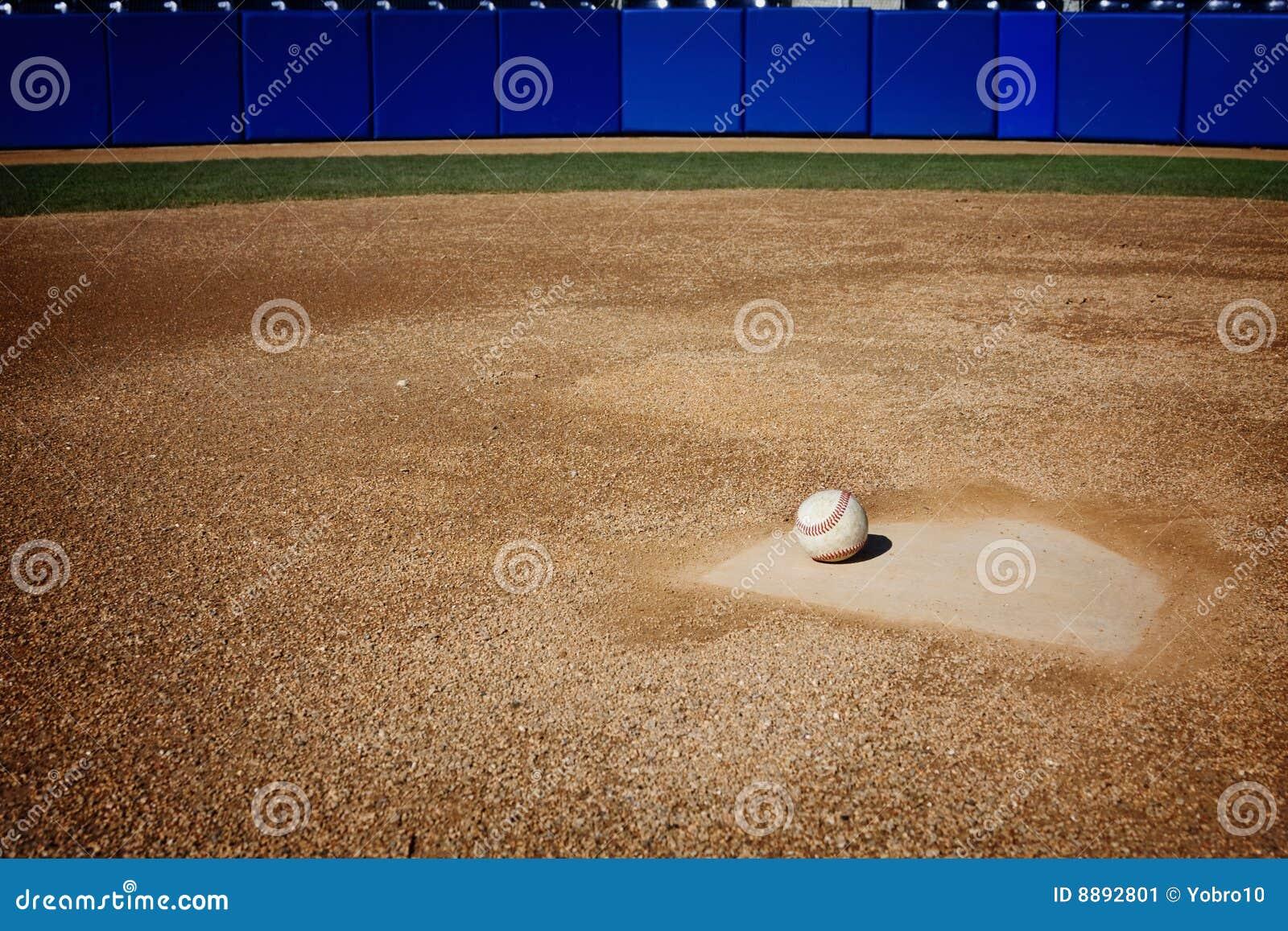 baseball field background stock image