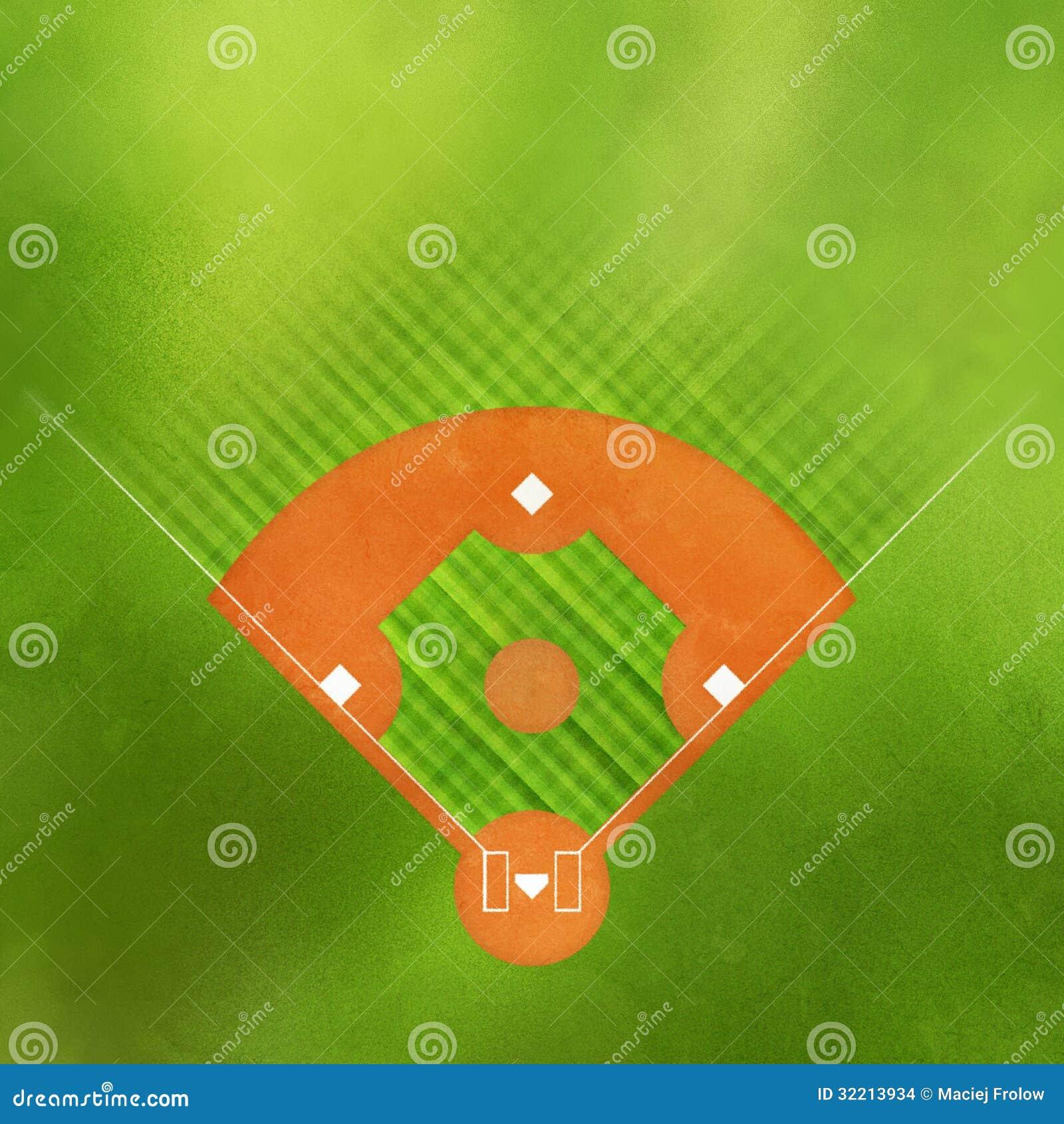 Baseball Field Grass B...