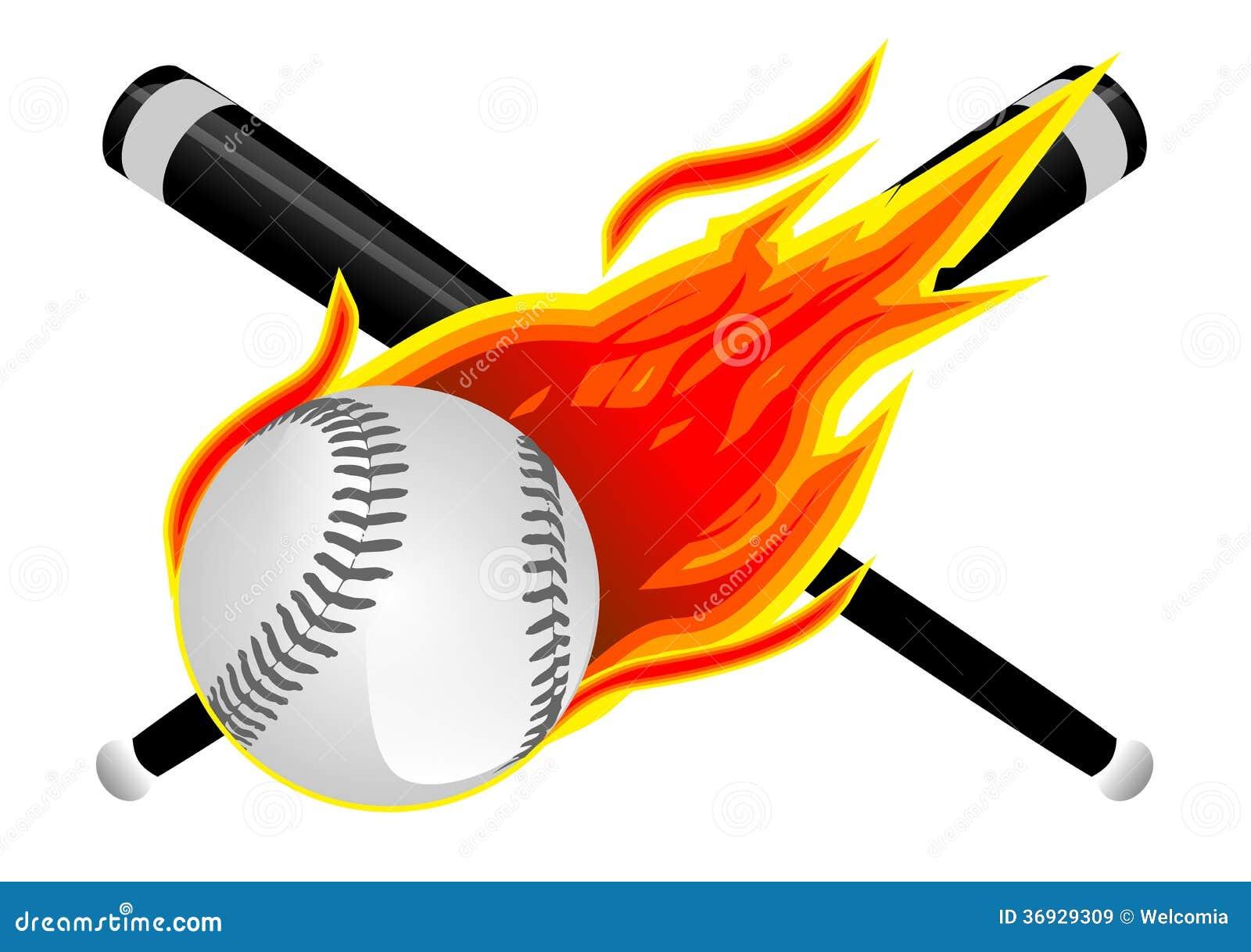 baseball flames stock illustrations 100 baseball flames stock rh dreamstime com Happy Birthday Nature Clip Art Baseball Border Clip Art