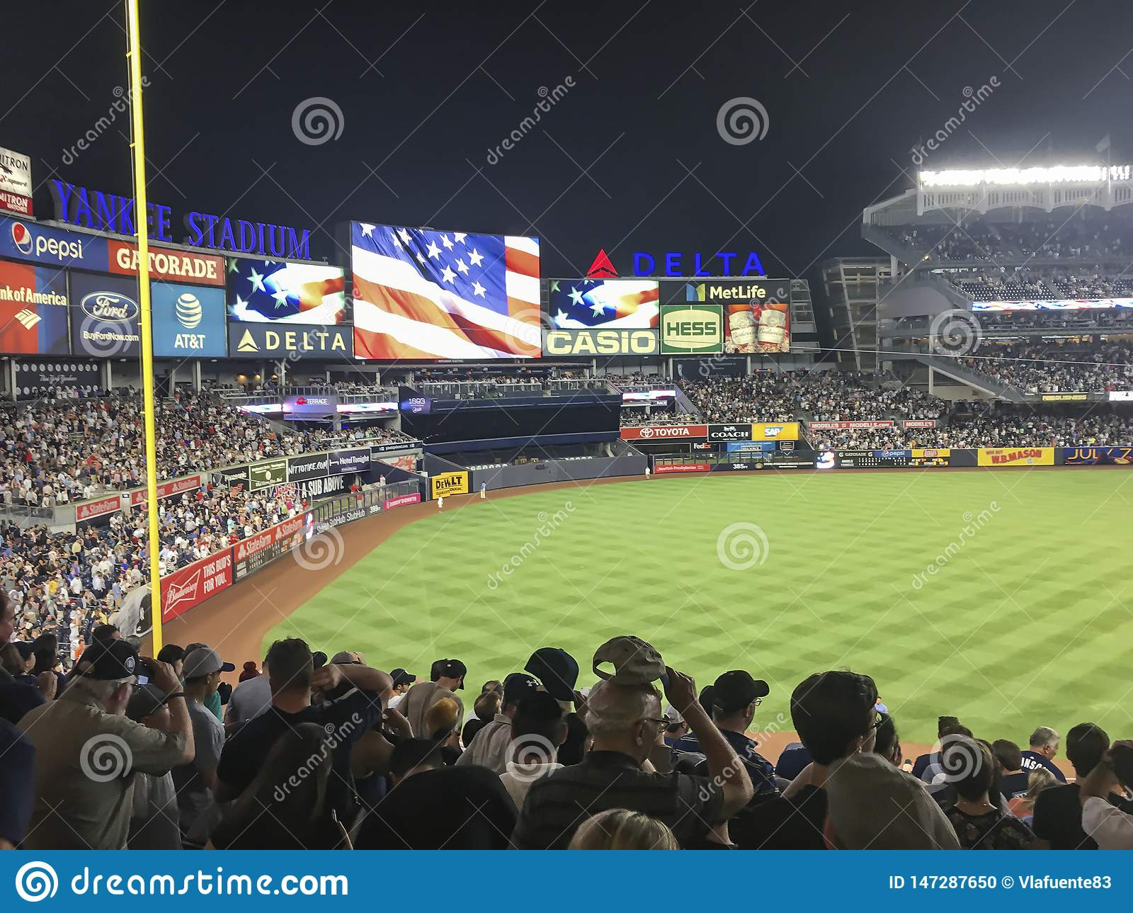 New York, USA; June 22, 2017; Match between the New York Yankees and Los Angeles Angels at Yankee Stadium