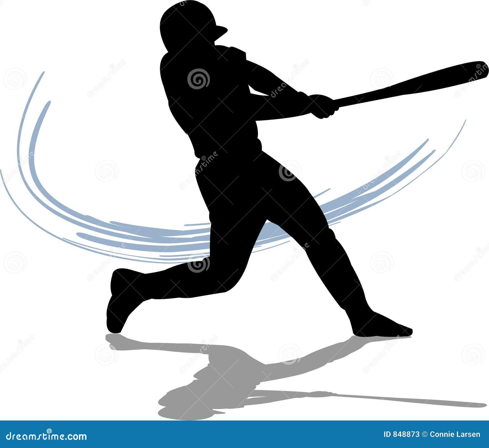 Baseball-geschlagener Eierteig