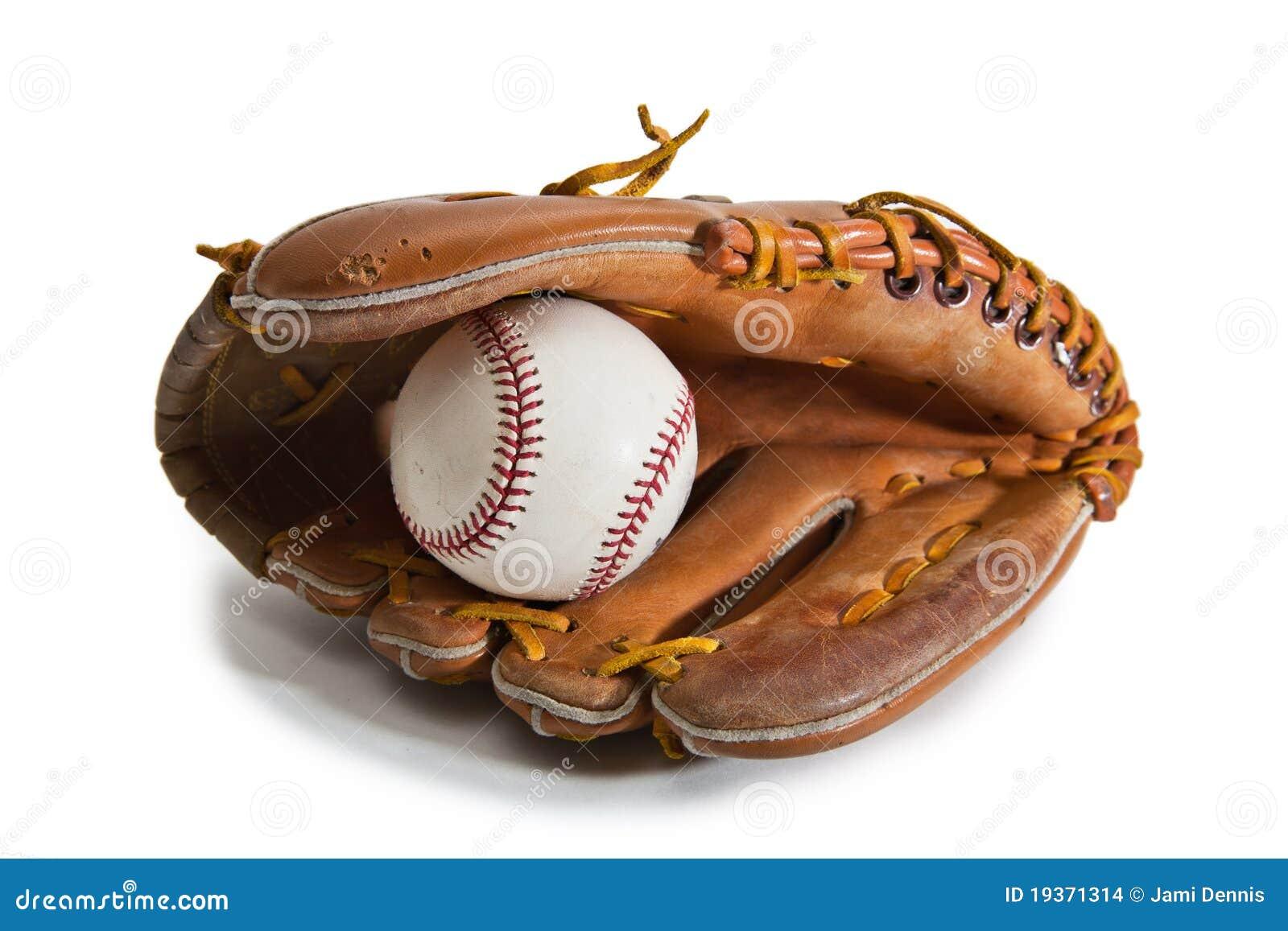 baseball glove and ball stock photo image of play child