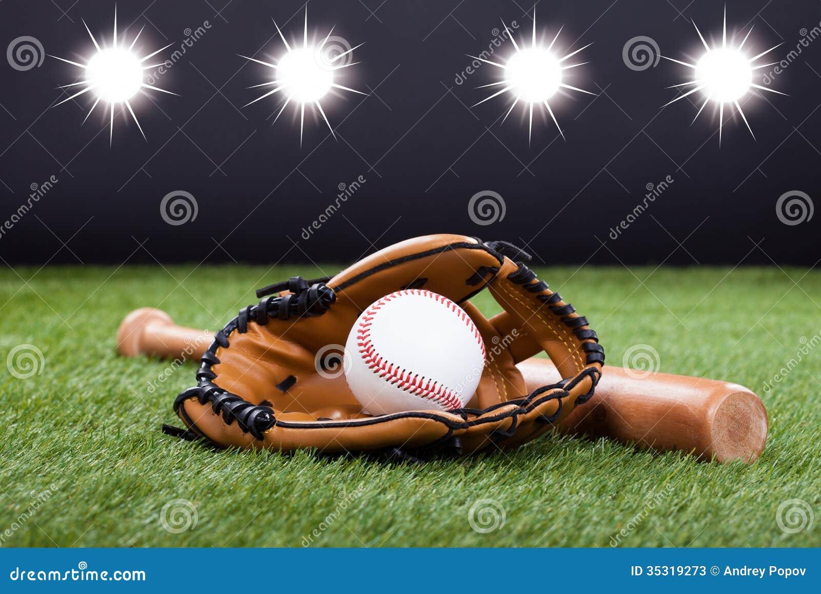 how to work in a baseball glove