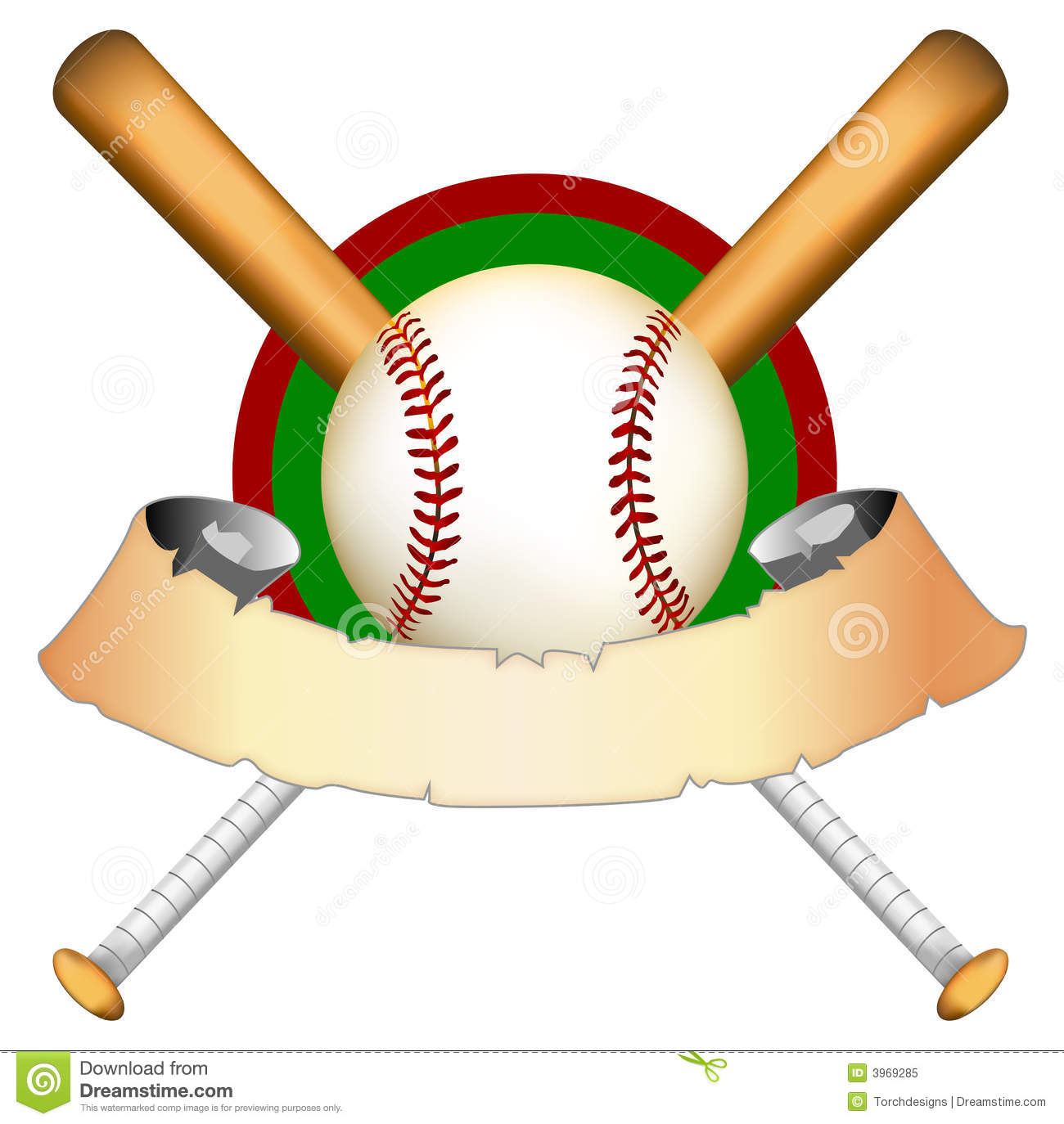 baseball graphic illustration stock illustration crossed bats clipart crossed softball bats clipart