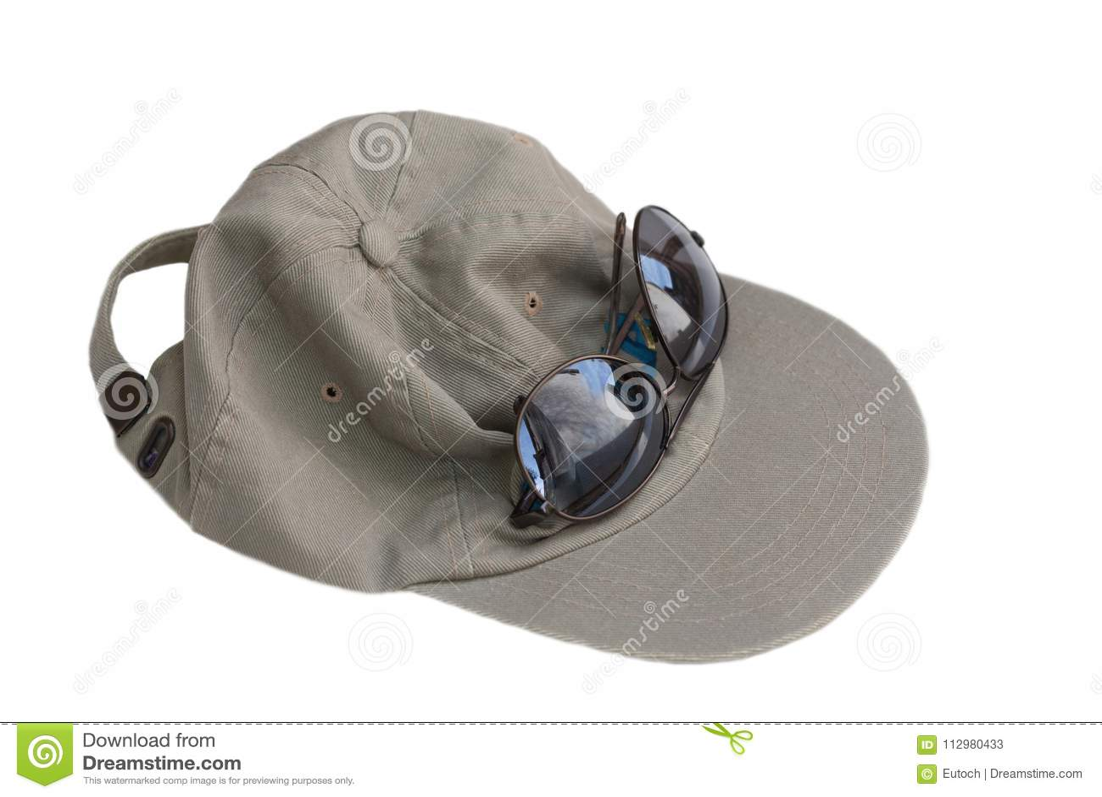 Baseball Hat and Sunglasses