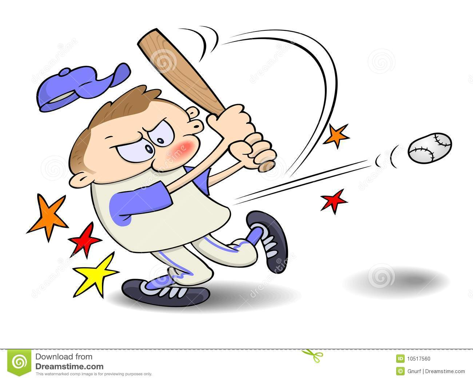 Baseball Hit Stock Photo - Ima...