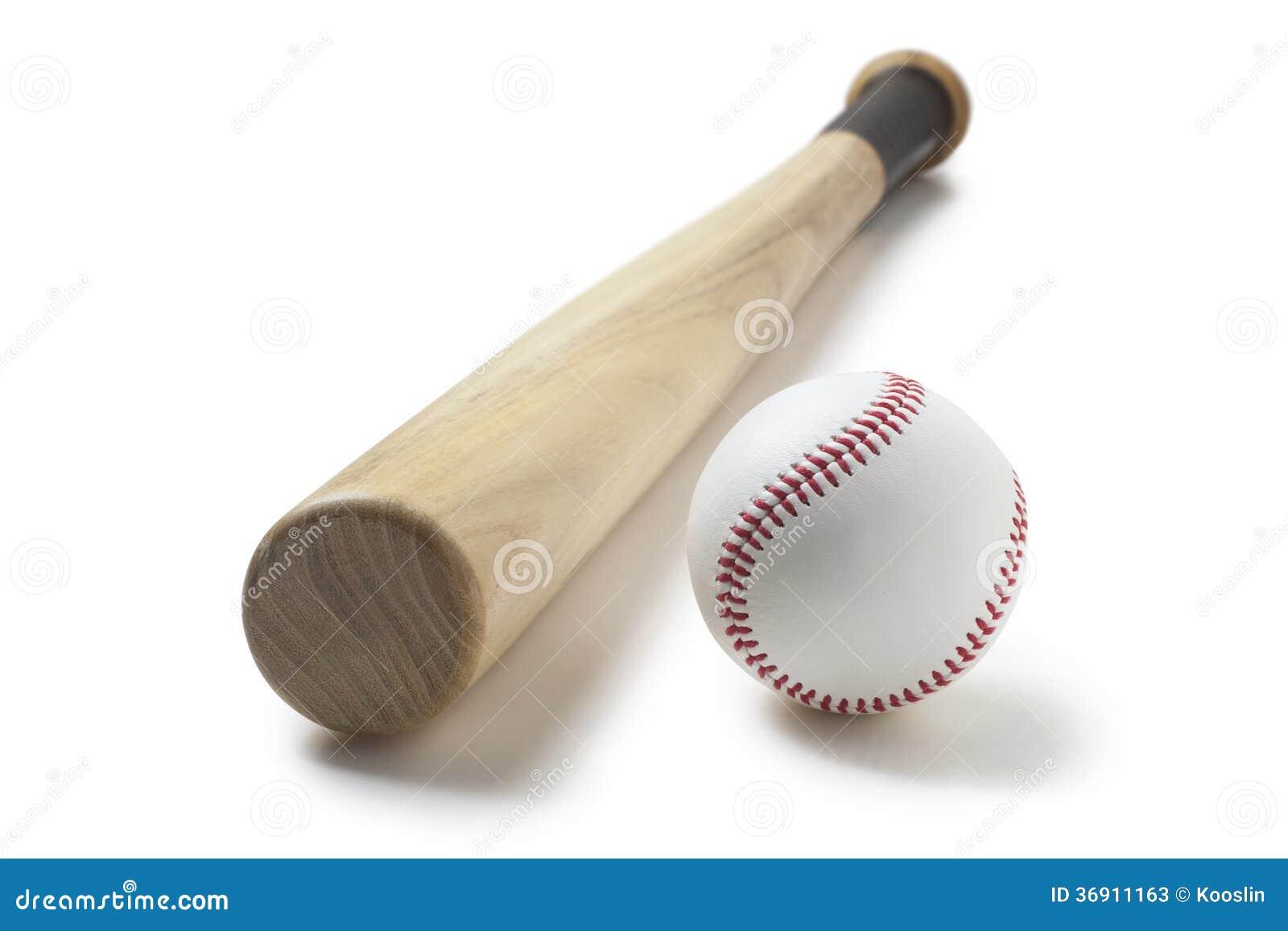 Baseball I Kij Bejsbolowy Obraz Stock Obraz Zlozonej Z Sport 36911163